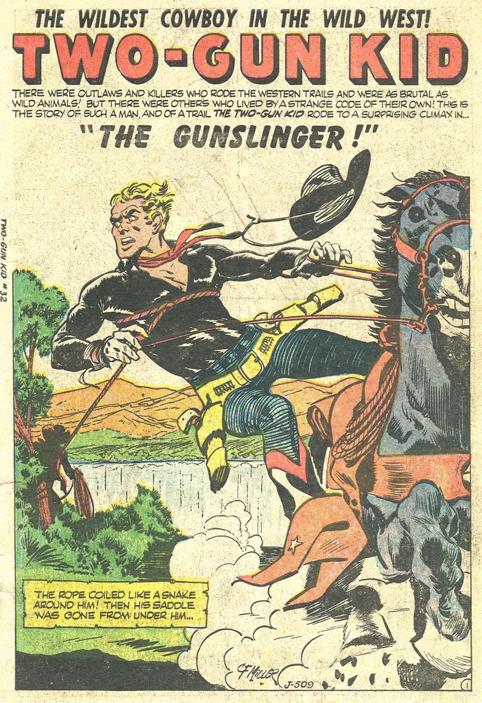 Read online Two-Gun Kid comic -  Issue #32 - 3