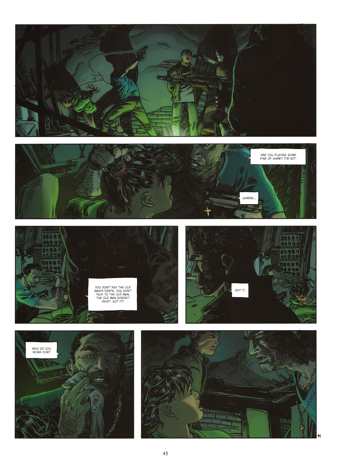 Read online Cutting Edge (2013) comic -  Issue #1 - 41