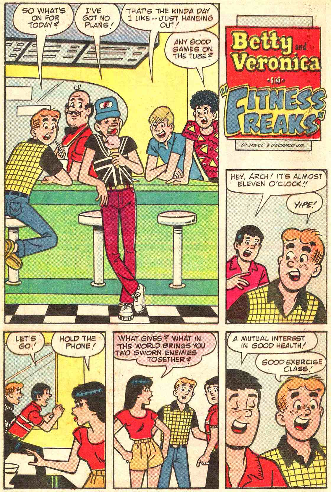 Read online Archie's Girls Betty and Veronica comic -  Issue #331 - 20