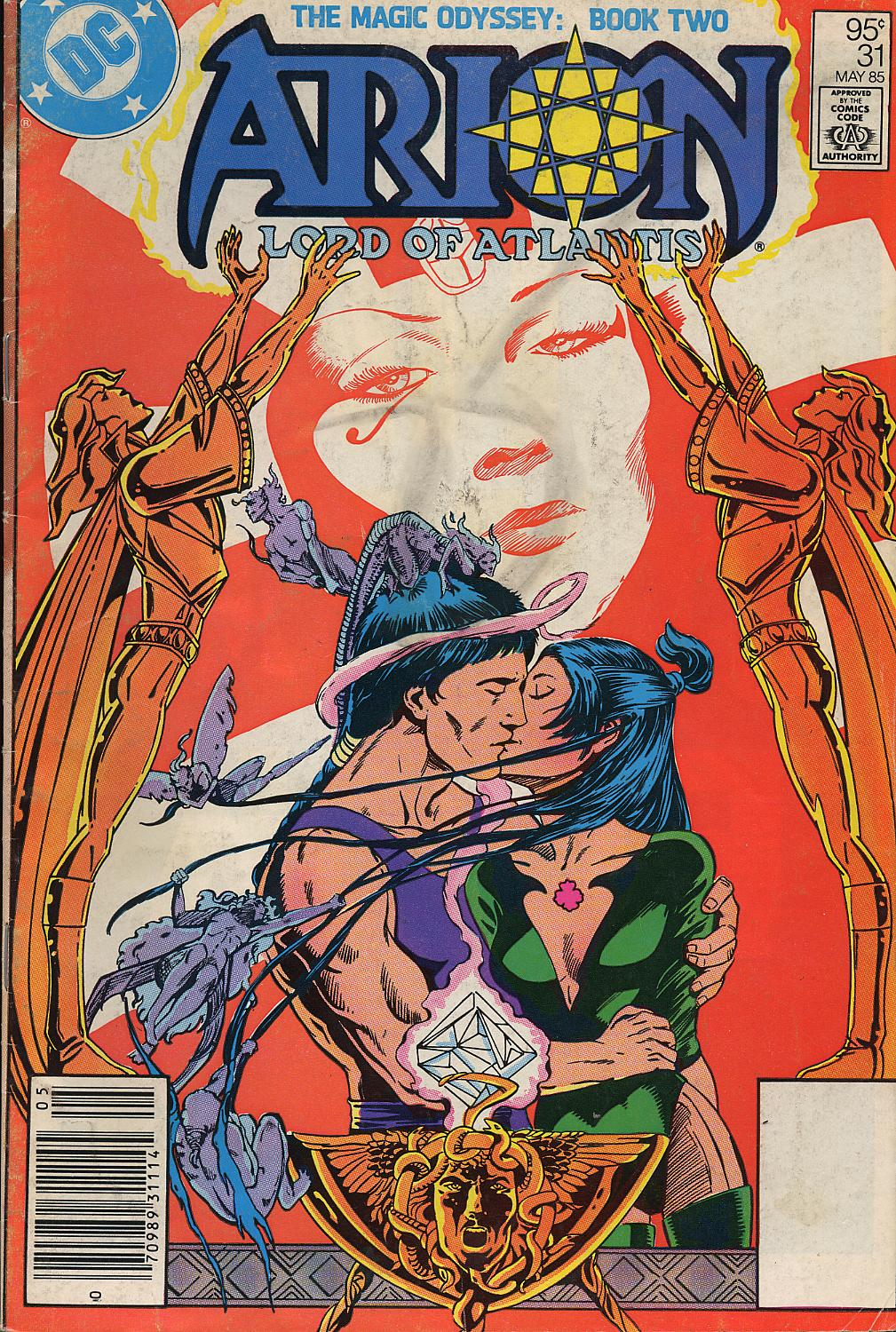 Read online Arion, Lord of Atlantis comic -  Issue #31 - 1