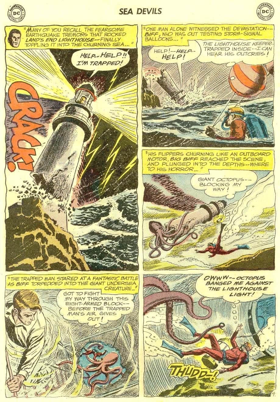 Read online Sea Devils comic -  Issue #12 - 6