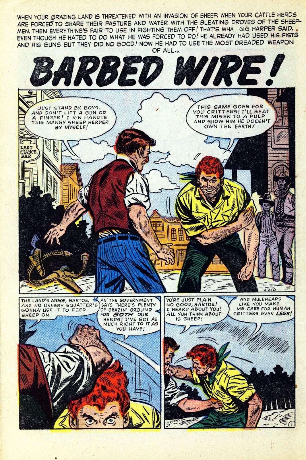 Gunsmoke Western issue 32 - Page 16