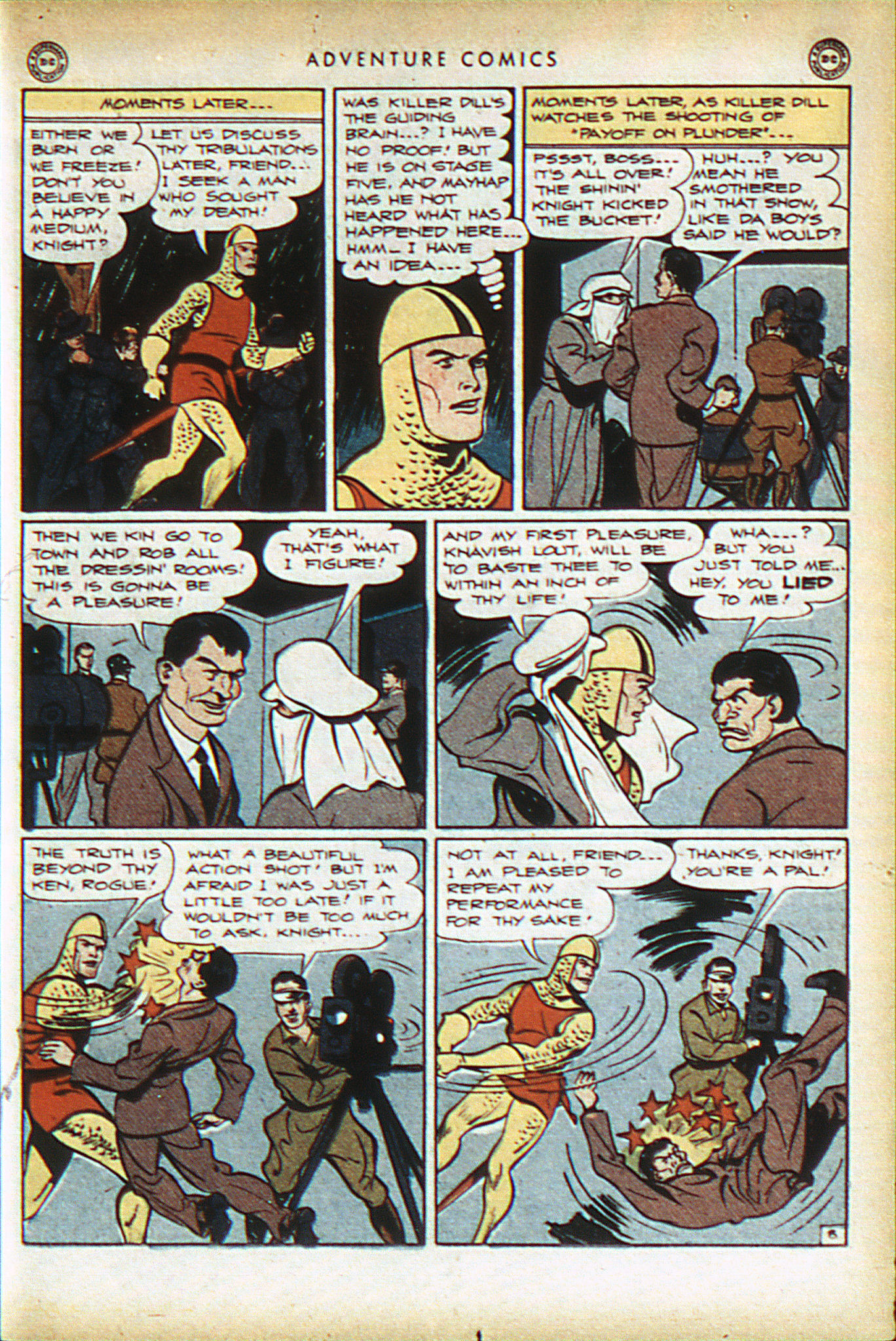 Read online Adventure Comics (1938) comic -  Issue #93 - 22