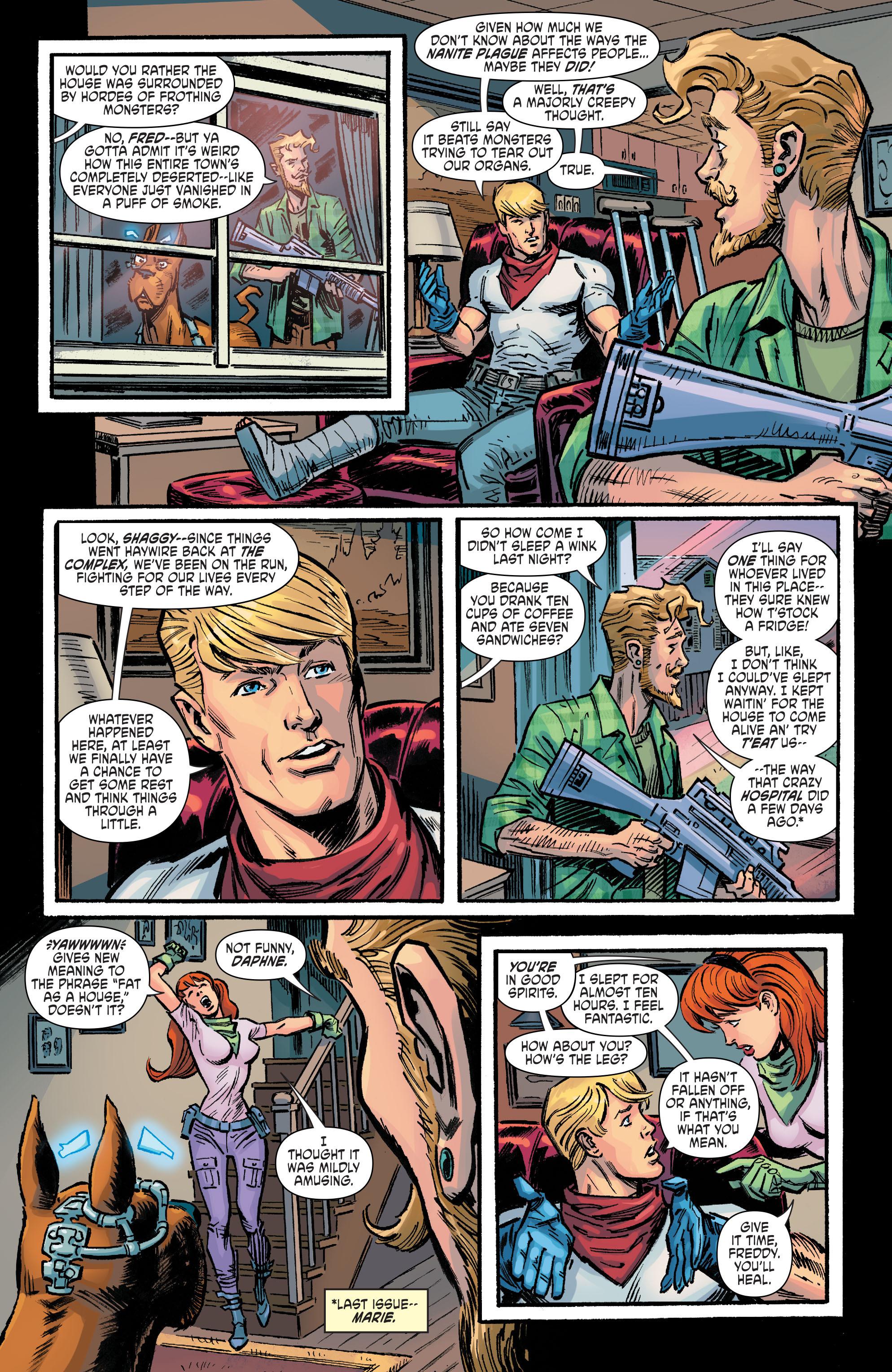 Read online Scooby Apocalypse comic -  Issue #9 - 5