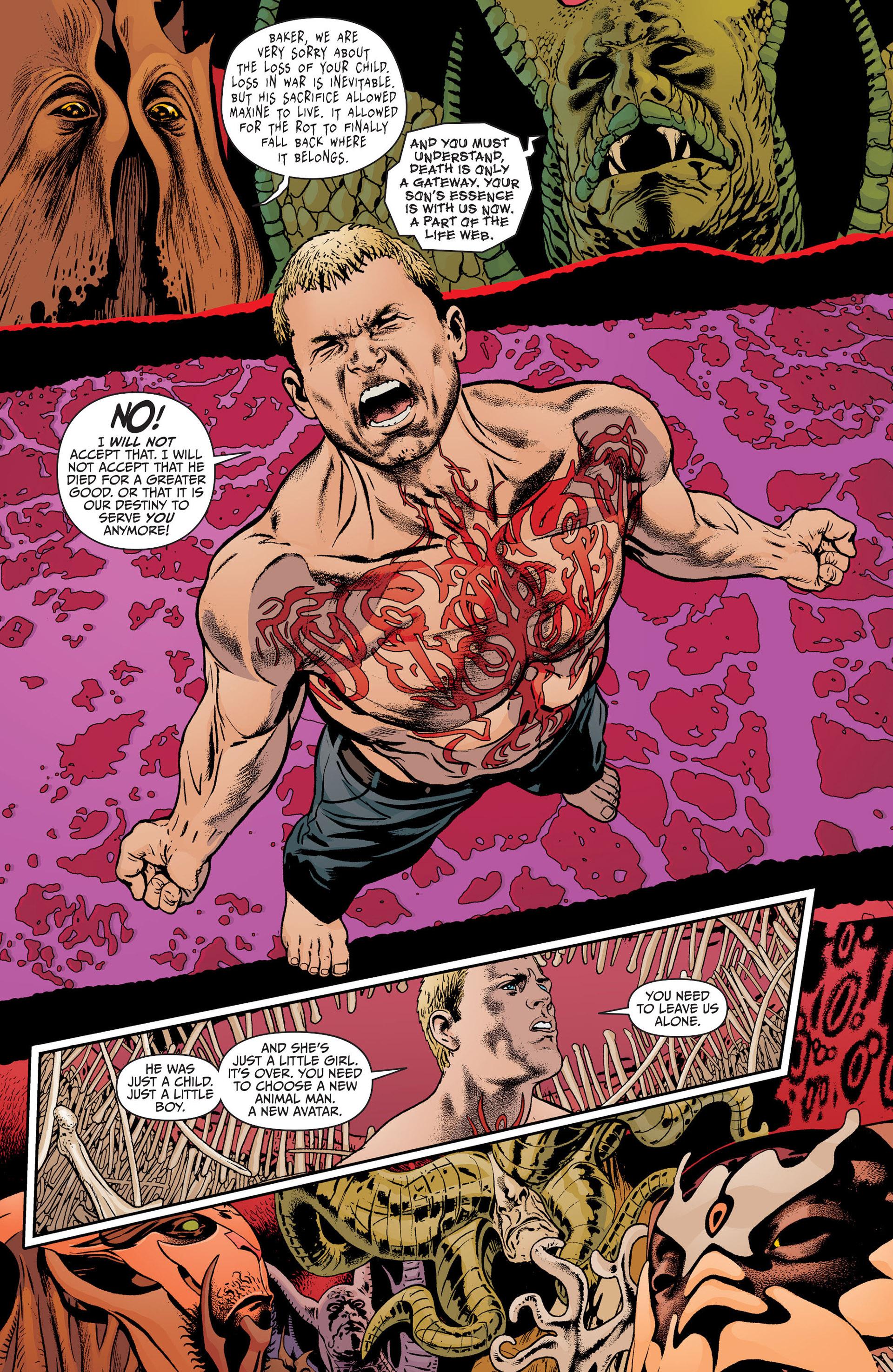 Read online Animal Man (2011) comic -  Issue #19 - 17