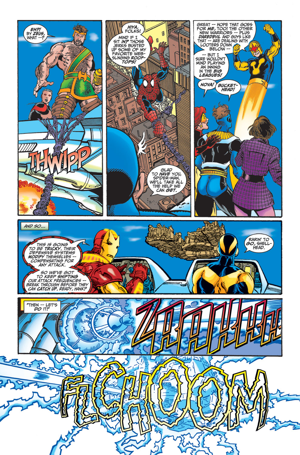 Read online Avengers (1998) comic -  Issue #25 - 17
