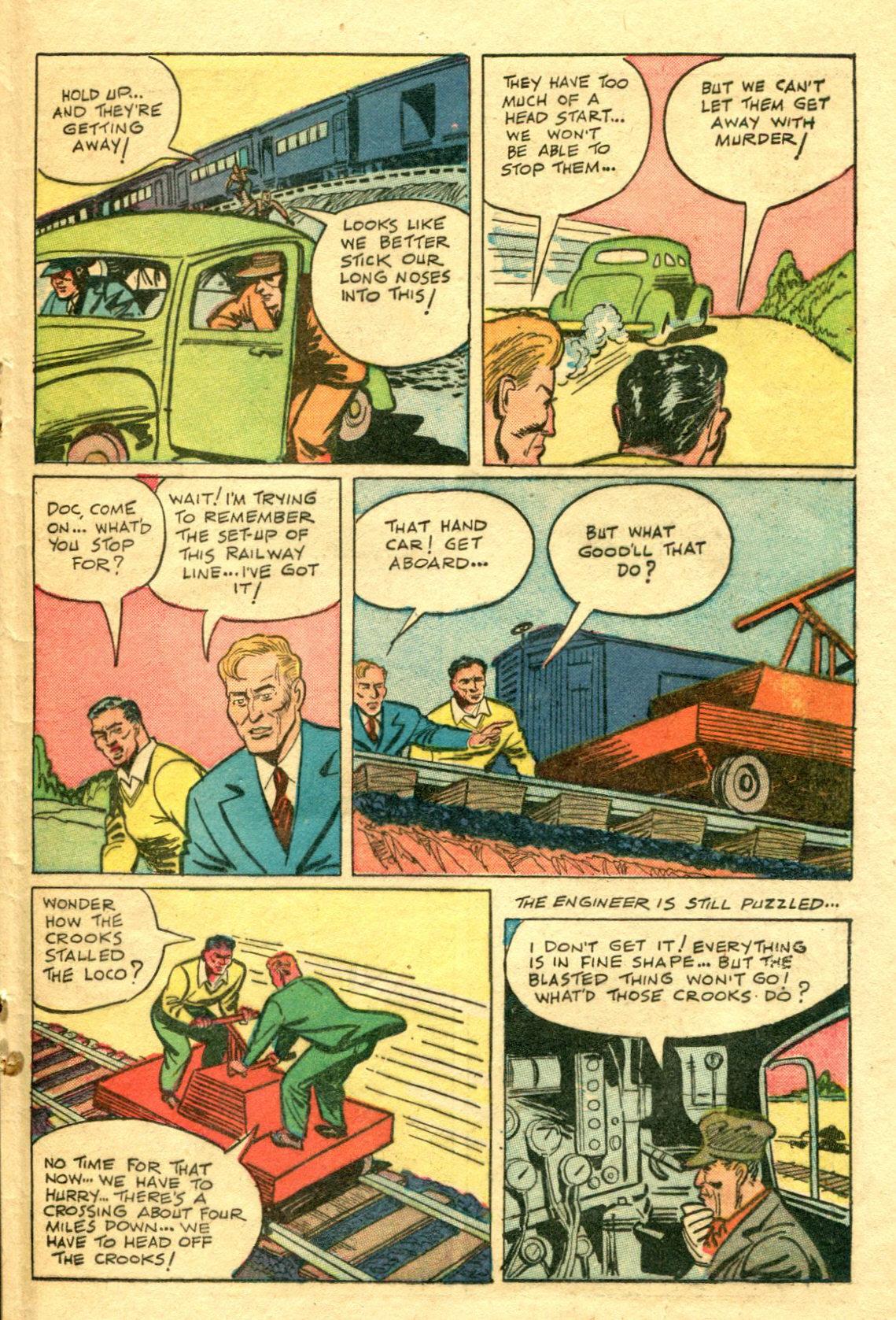 Read online Shadow Comics comic -  Issue #75 - 34