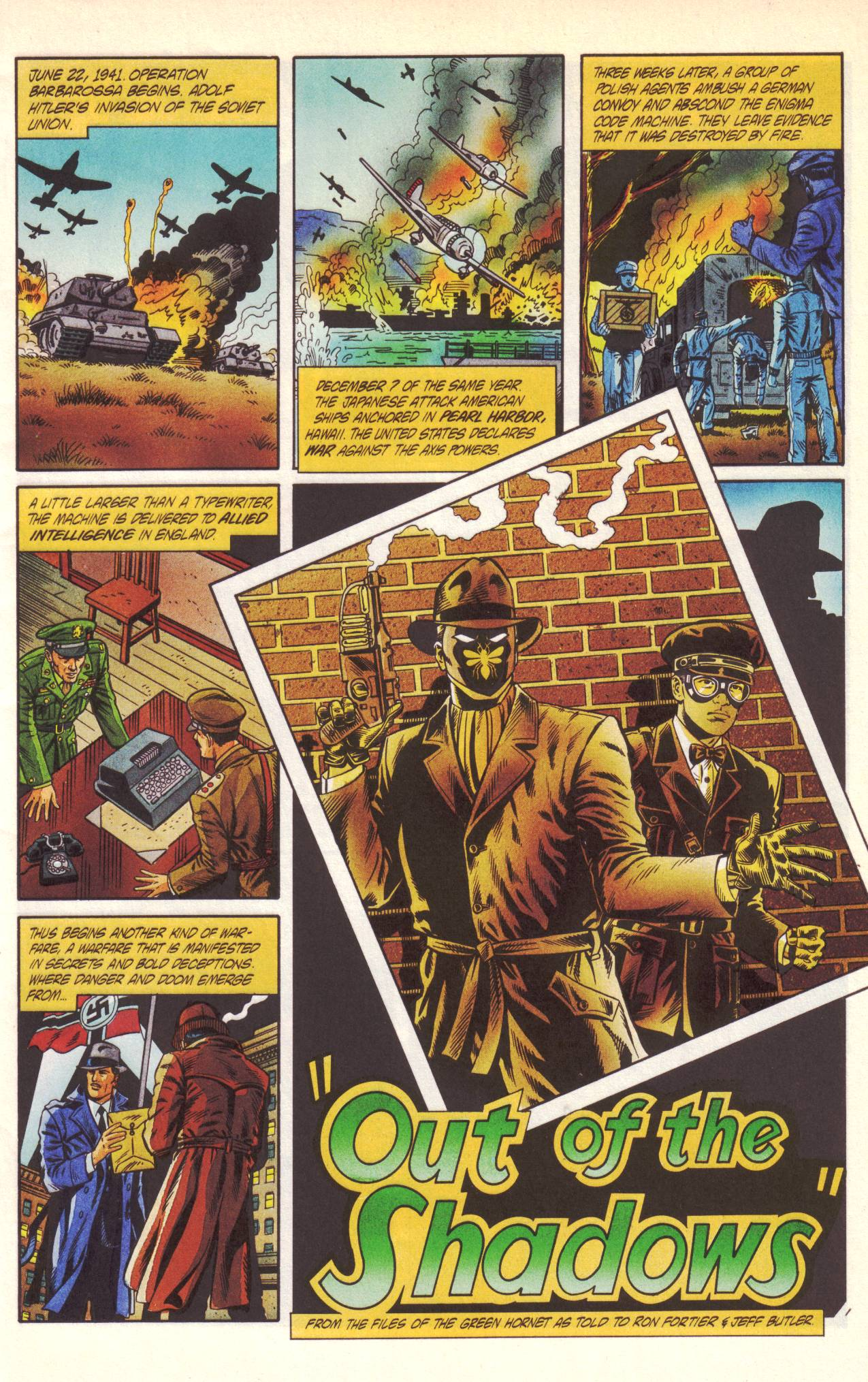 Read online Sting of The Green Hornet comic -  Issue #1 - 2