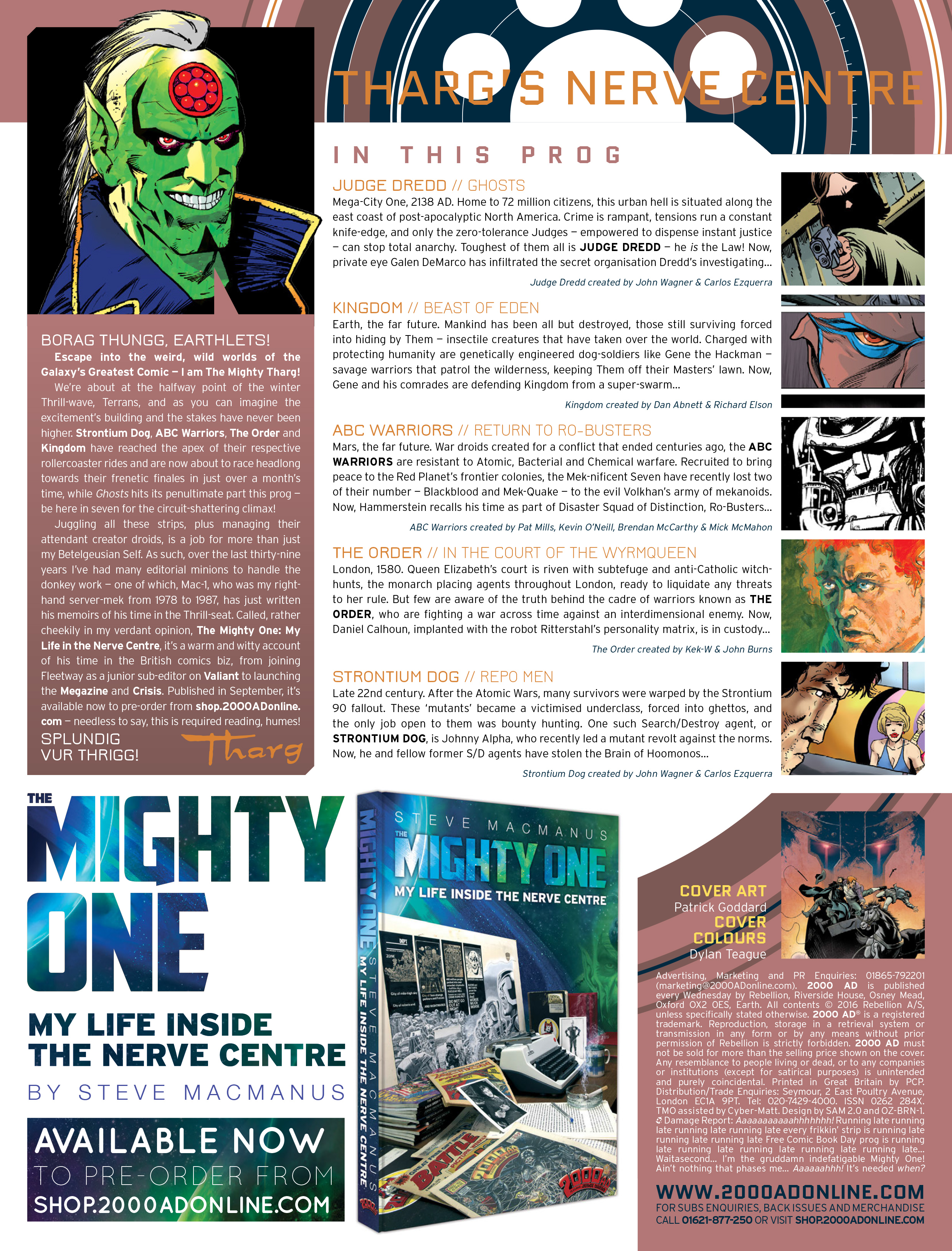 Read online 2000 AD comic -  Issue #1967 - 2