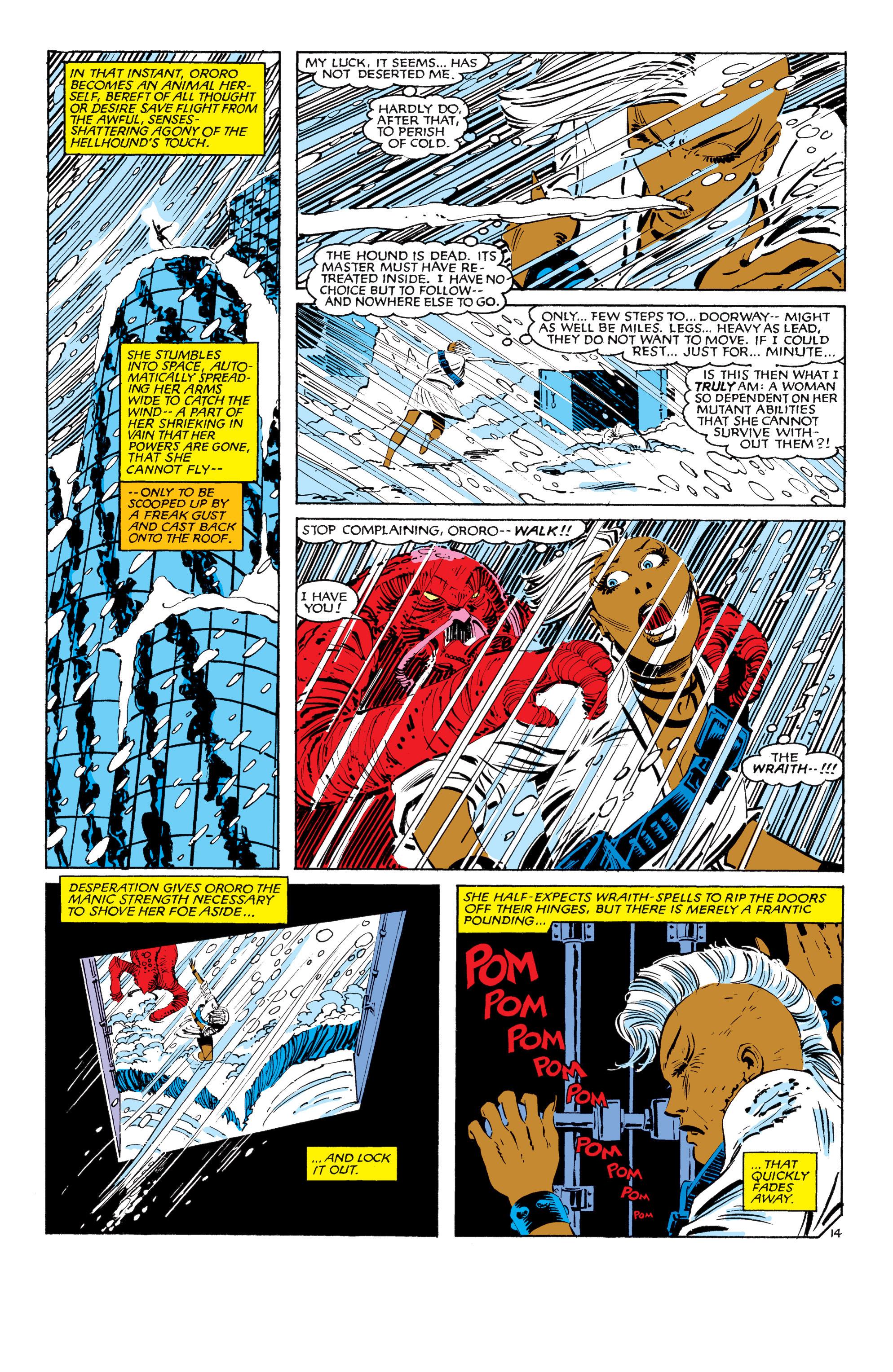 Read online Uncanny X-Men (1963) comic -  Issue #187 - 15