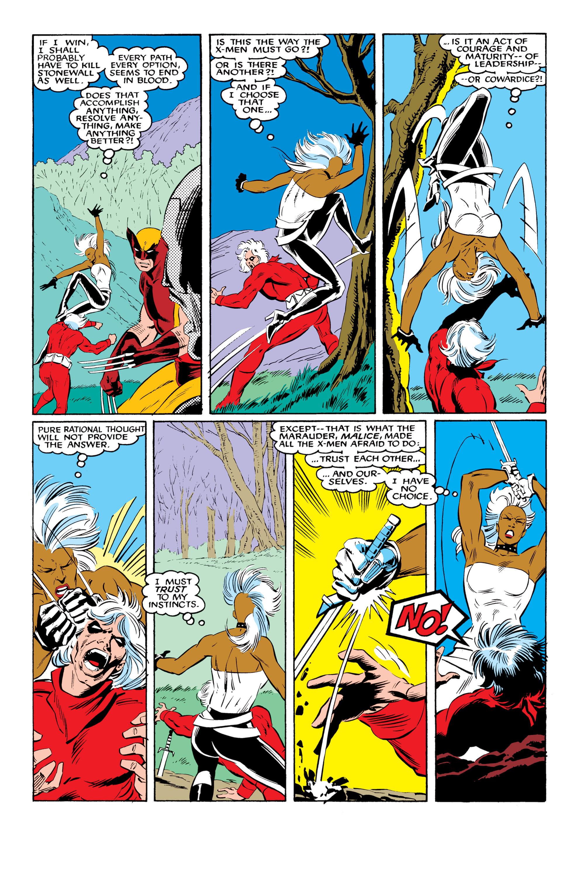 Read online Uncanny X-Men (1963) comic -  Issue #216 - 22