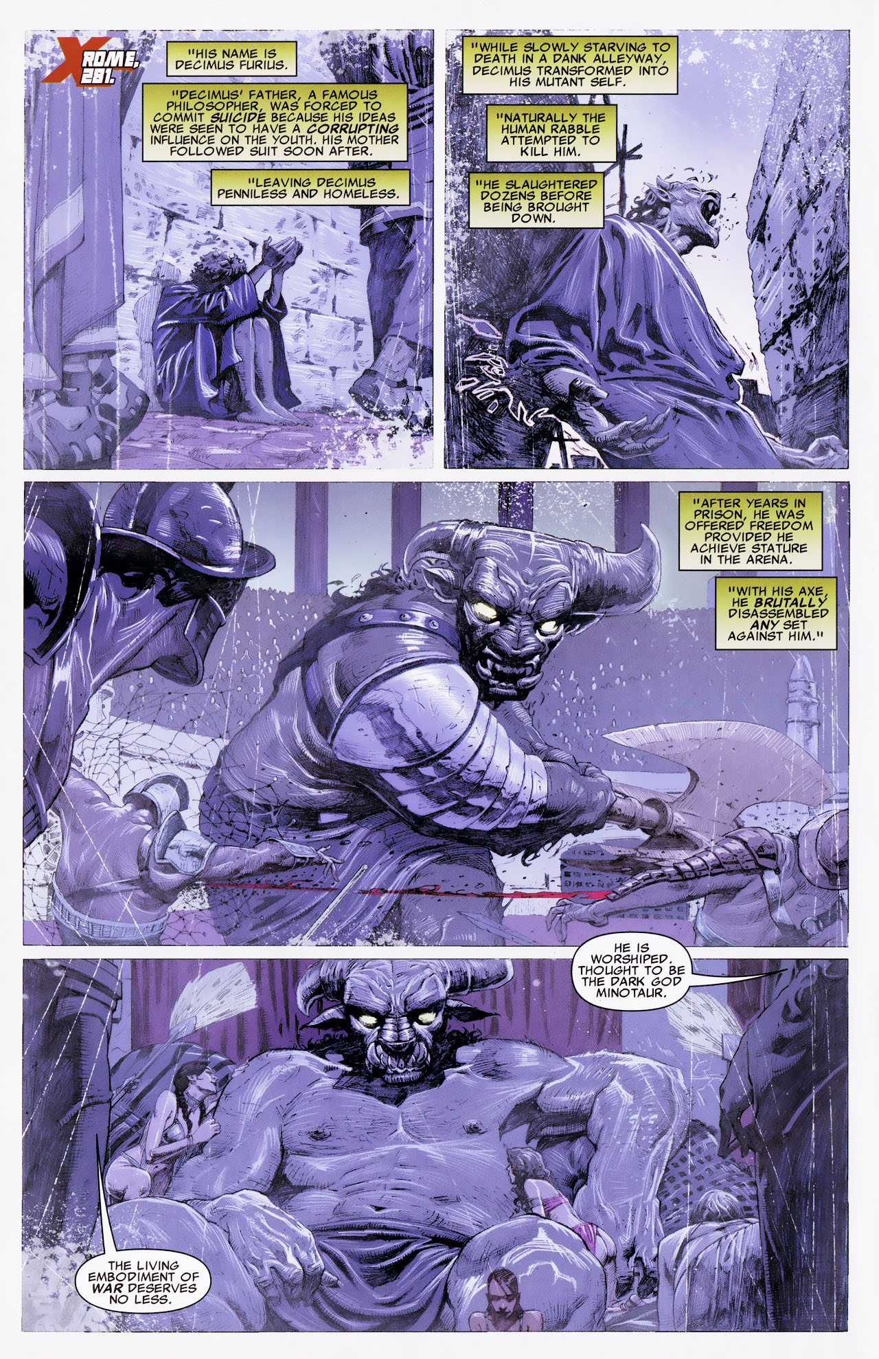 Read online Uncanny X-Force: The Apocalypse Solution comic -  Issue # Full - 52
