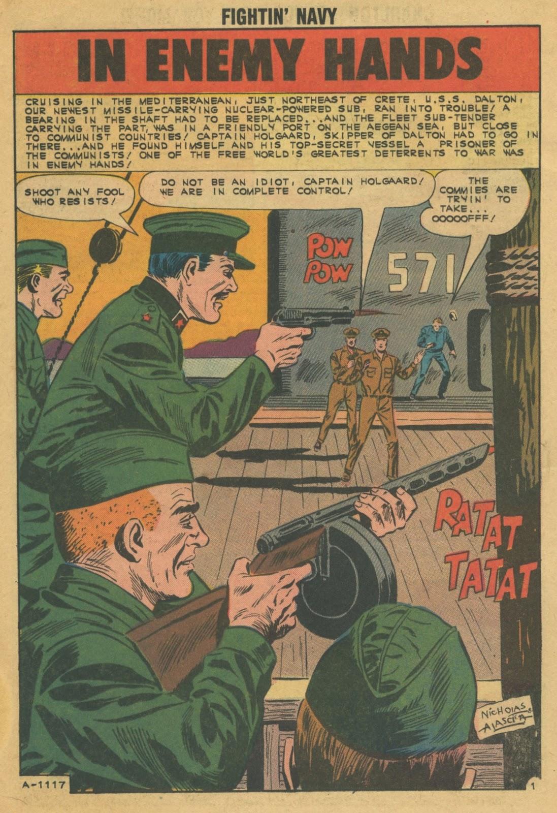 Read online Fightin' Navy comic -  Issue #103 - 12