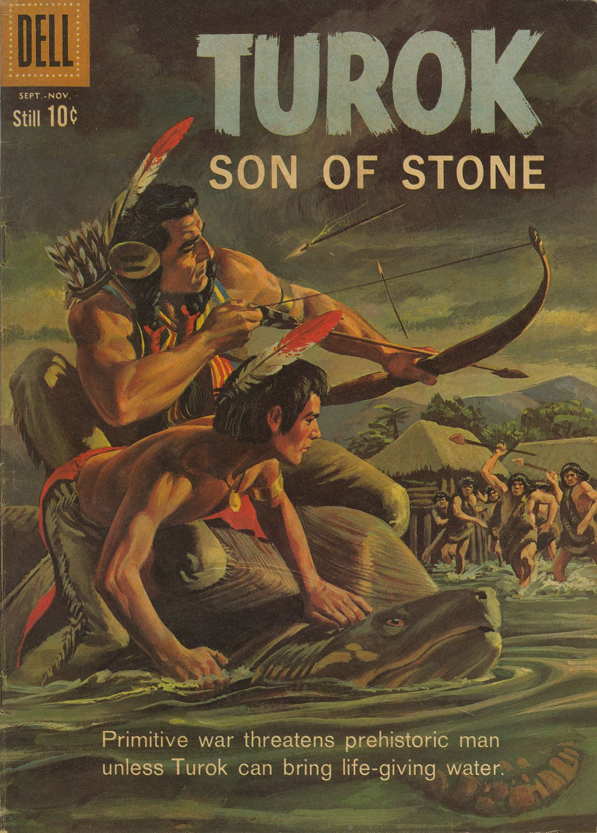 Read online Turok, Son of Stone comic -  Issue #21 - 1