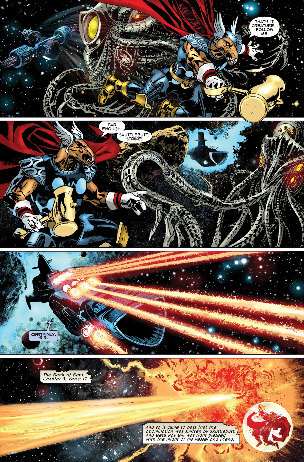 Read online Secret Invasion Aftermath: Beta Ray Bill - The Green of Eden comic -  Issue # Full - 5