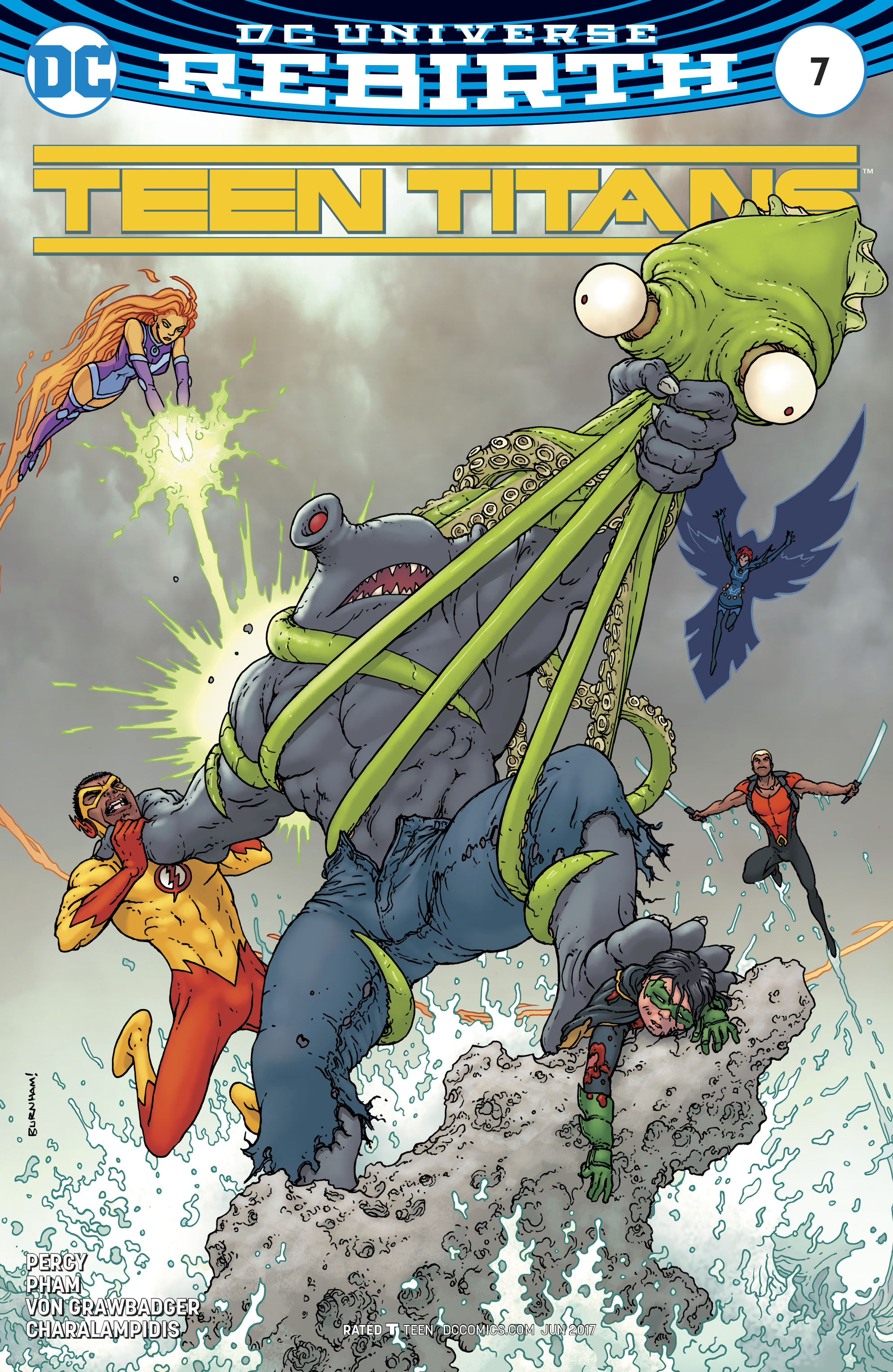 Read online Teen Titans (2016) comic -  Issue #7 - 2