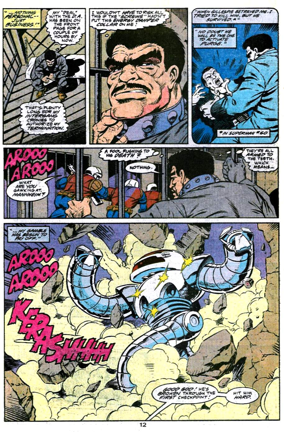 Read online Adventures of Superman (1987) comic -  Issue #486 - 13