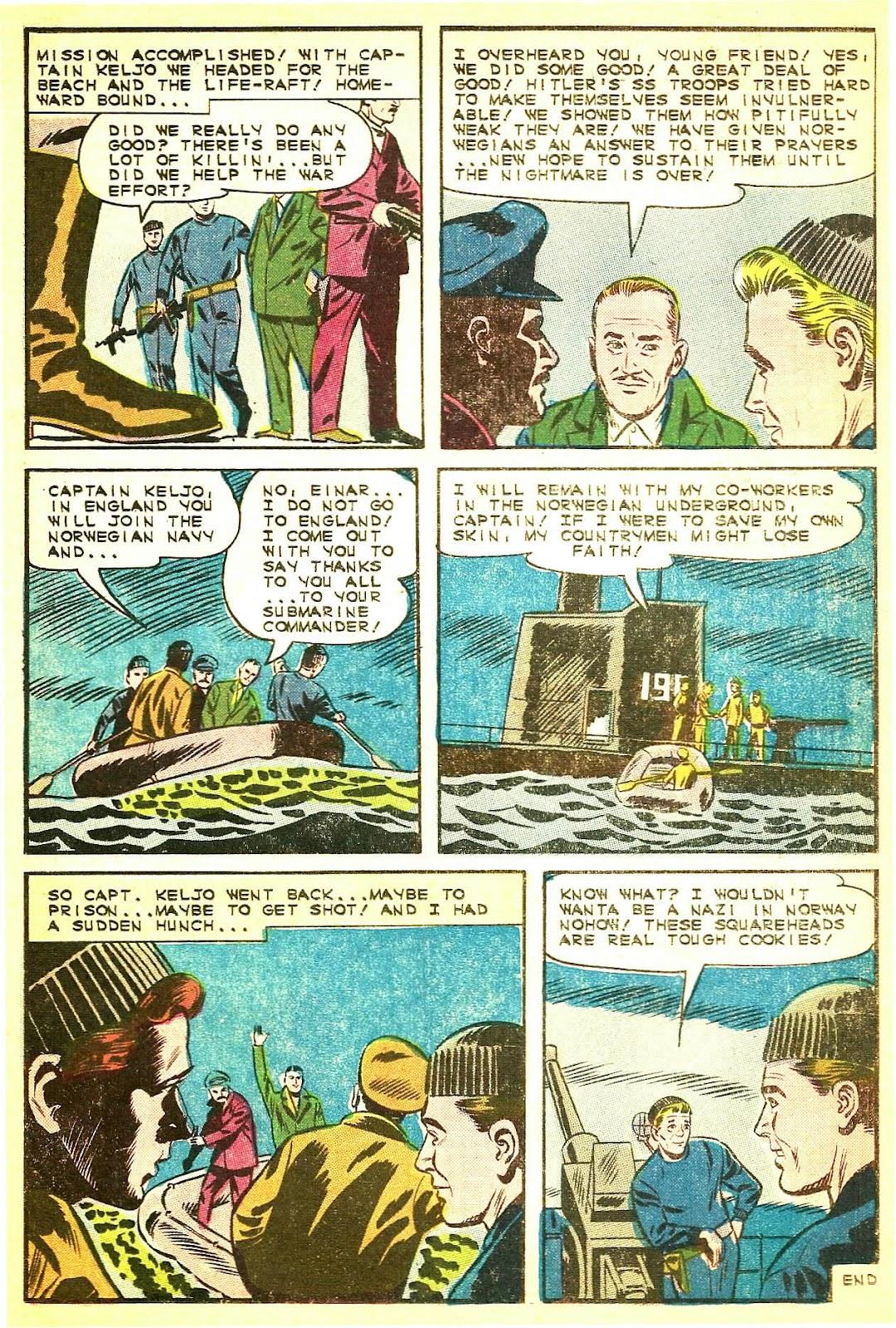 Read online Fightin' Navy comic -  Issue #124 - 22