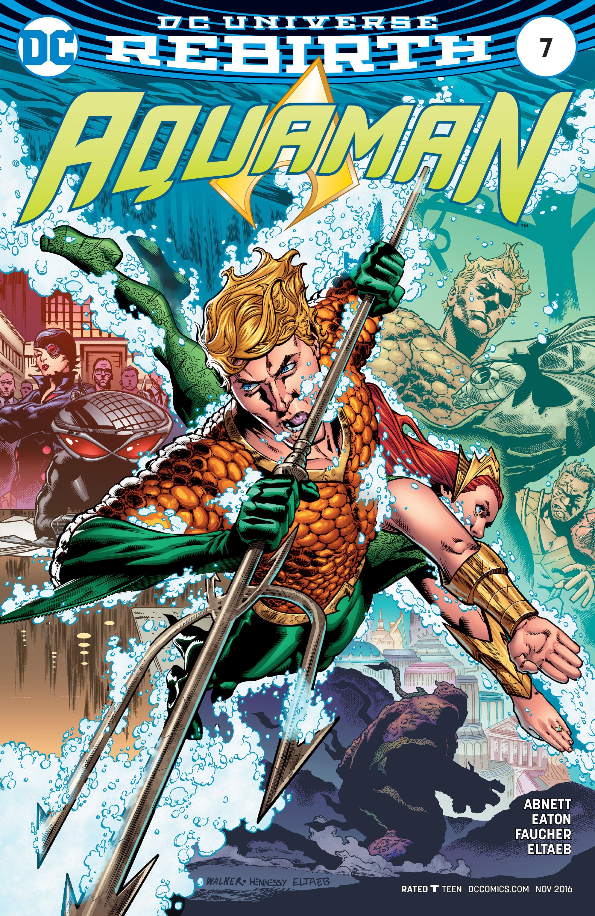 Read online Aquaman (2016) comic -  Issue #7 - 1