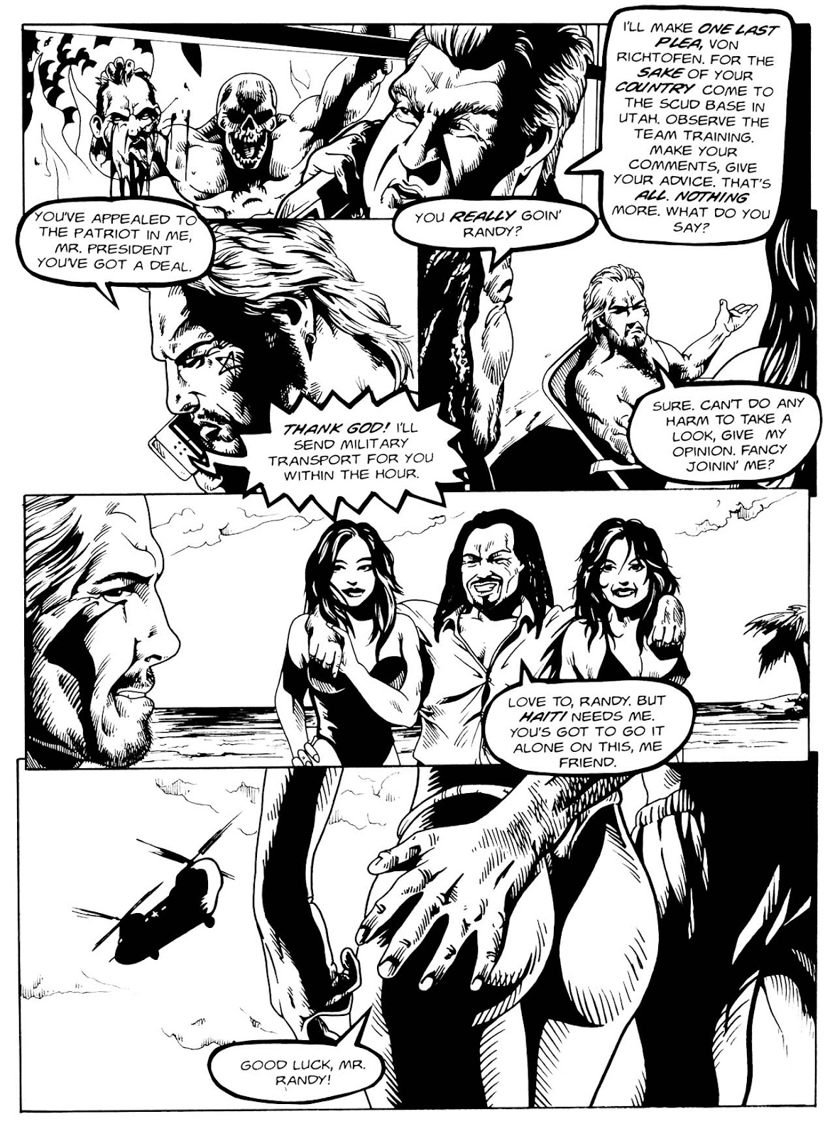 Read online Night of the Living Dead (1994) comic -  Issue #3 - 9