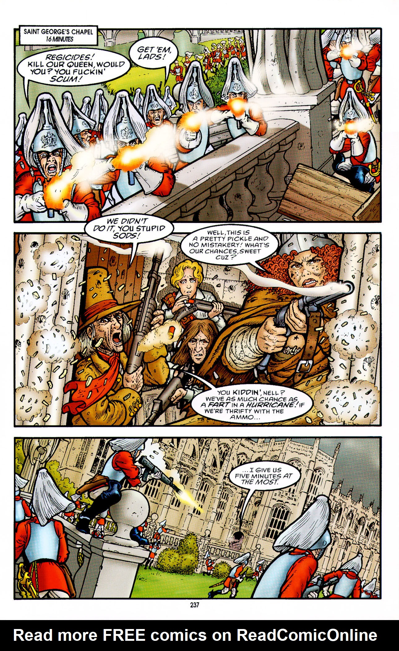 Read online Heart of Empire comic -  Issue #8 - 13