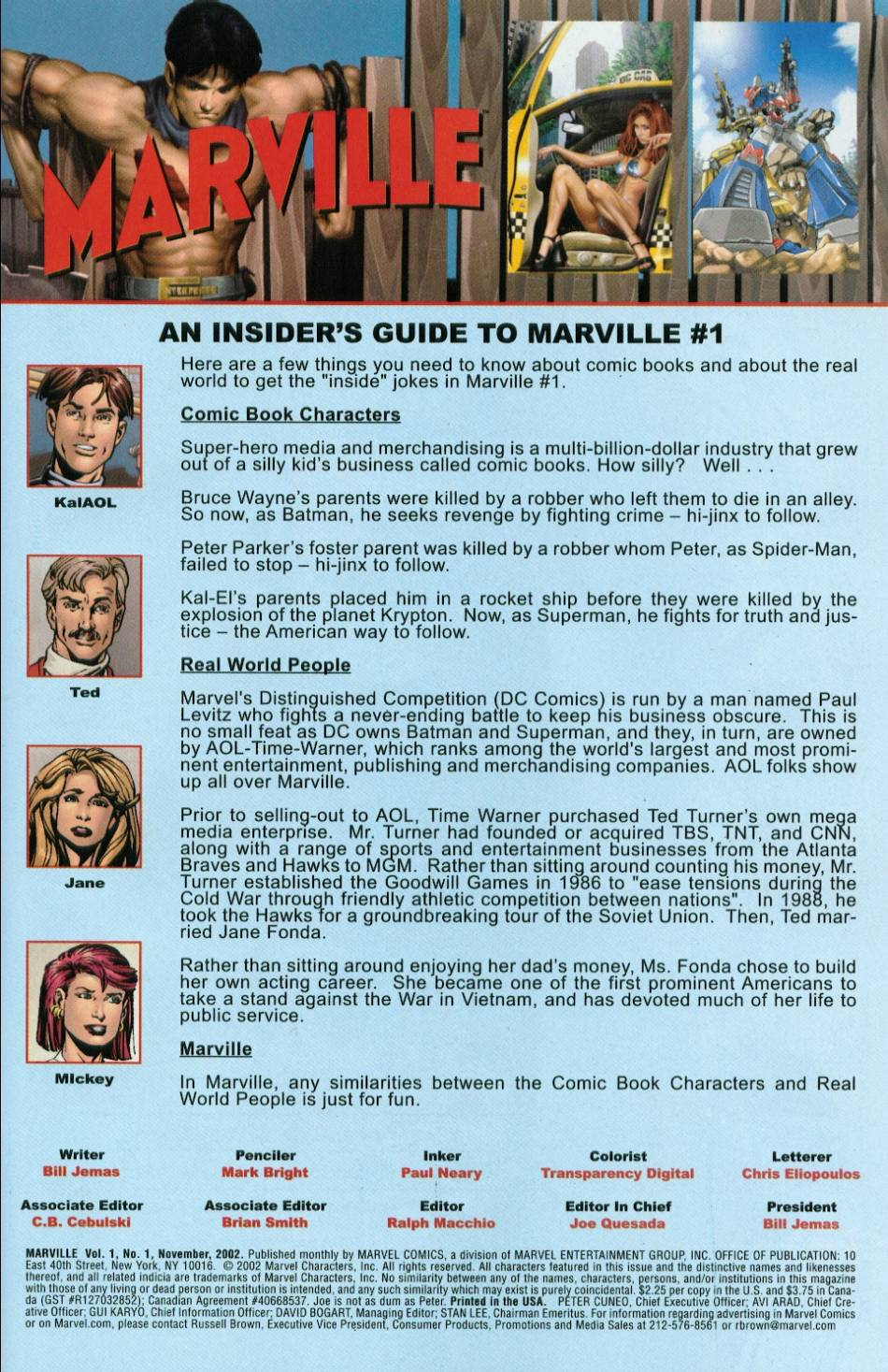 Marville issue 1 - Page 2