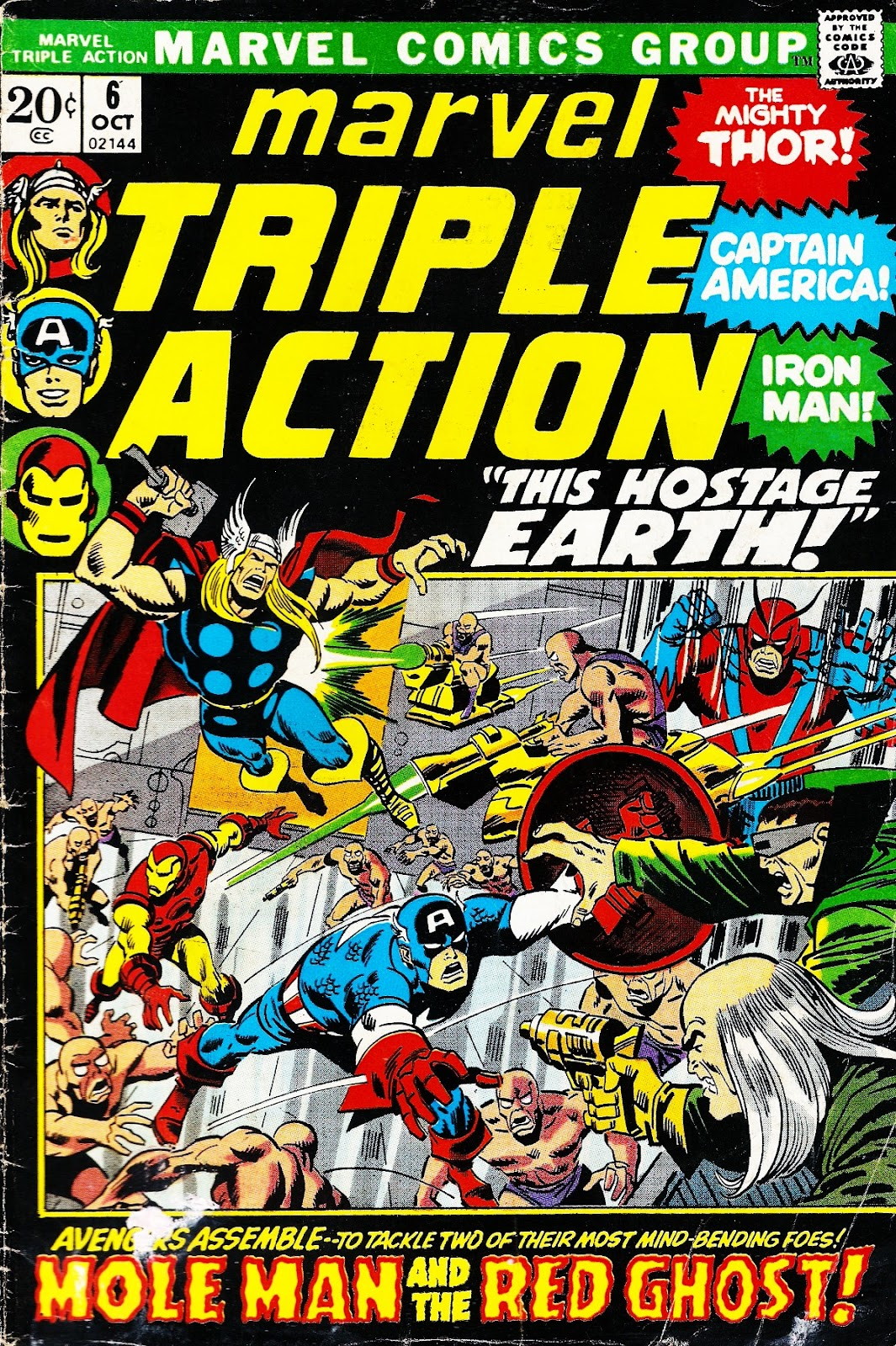 Marvel Triple Action (1972) issue 6 - Page 1