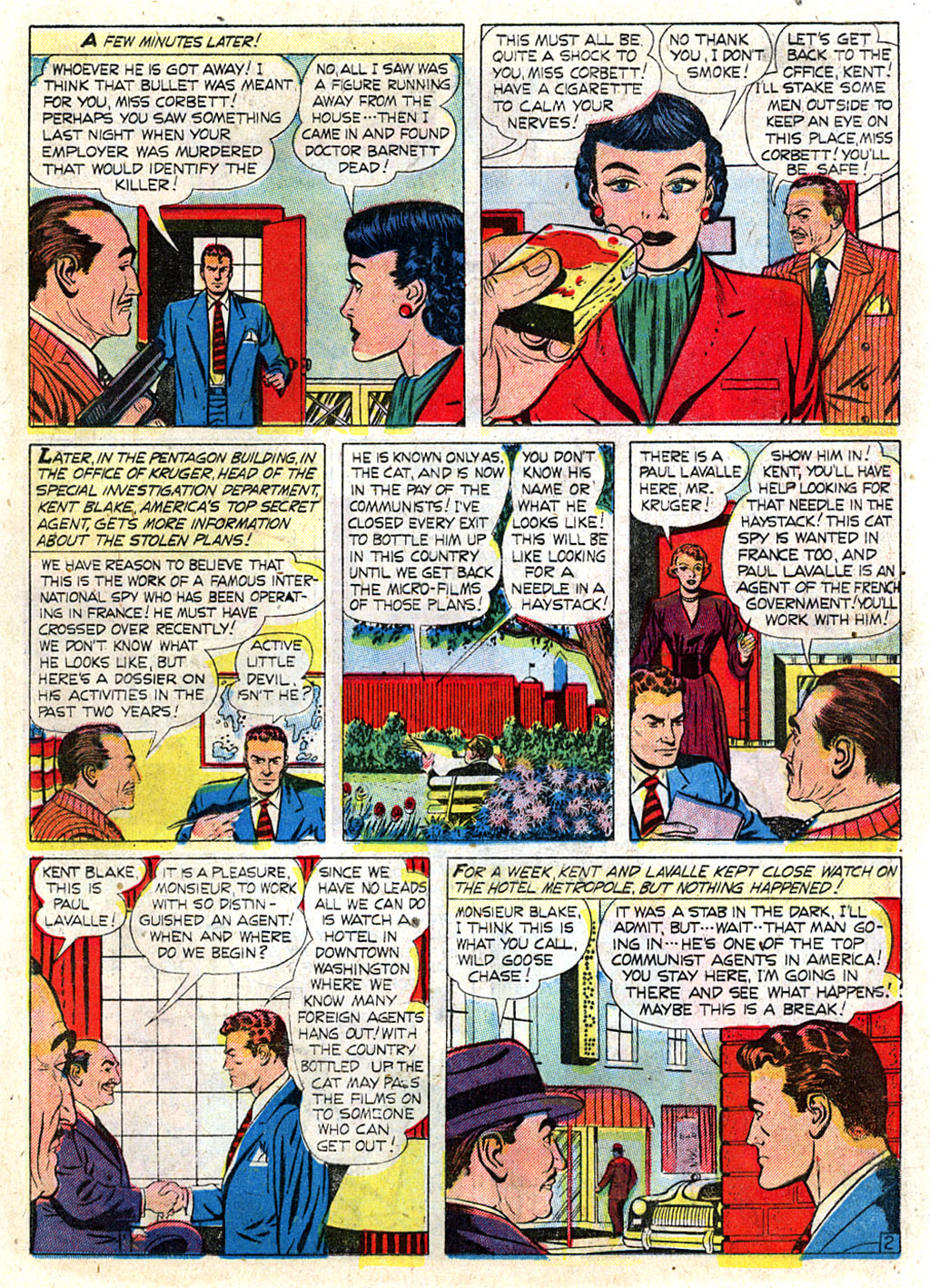 Kent Blake of the Secret Service issue 3 - Page 13