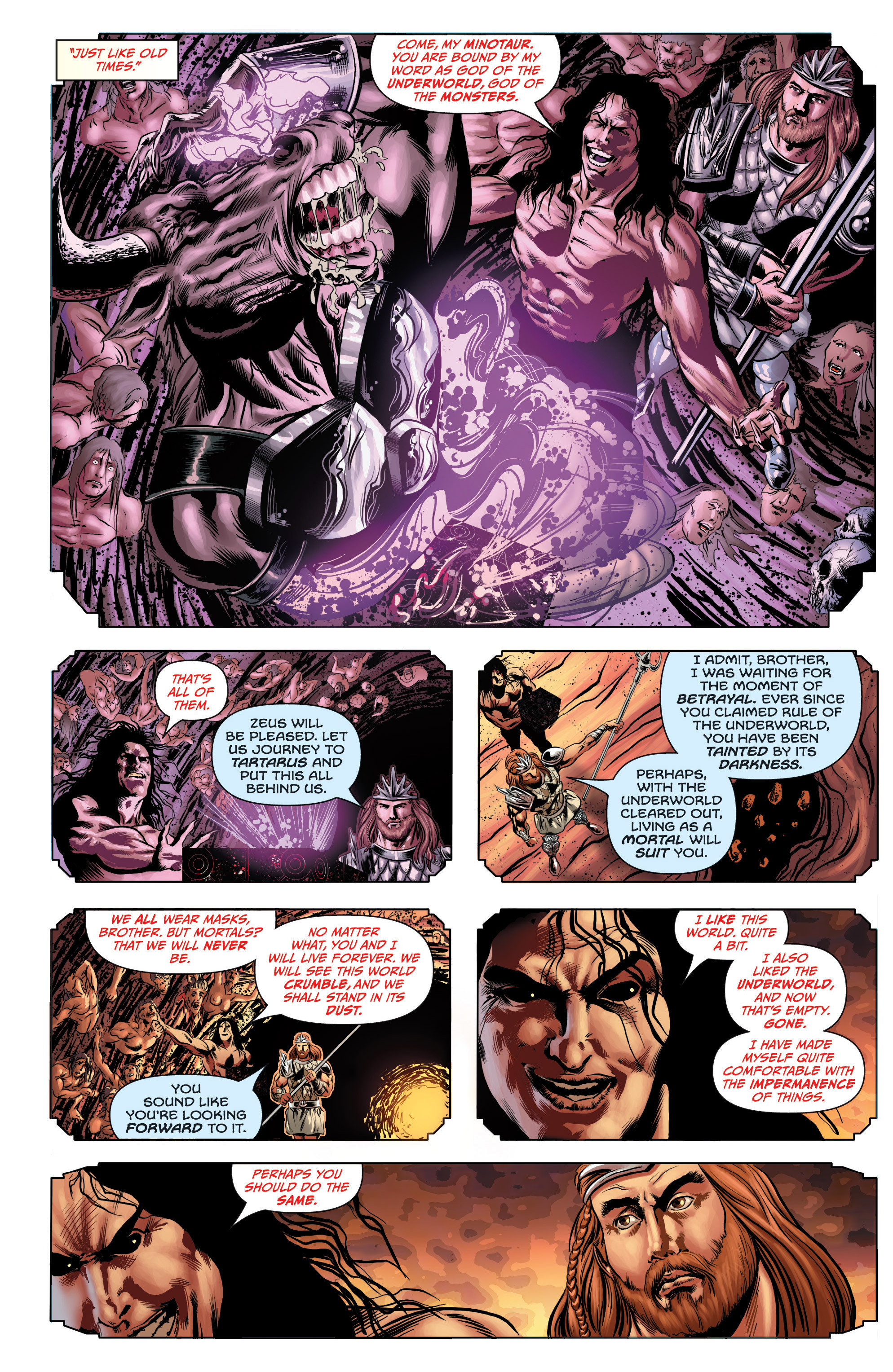 Read online Grimm Fairy Tales presents Grimm Universe comic -  Issue # TPB - 59