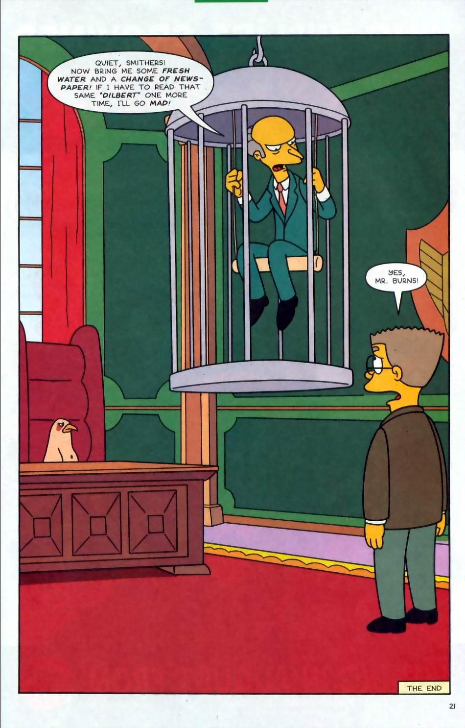 Read online Simpsons Comics comic -  Issue #72 - 22