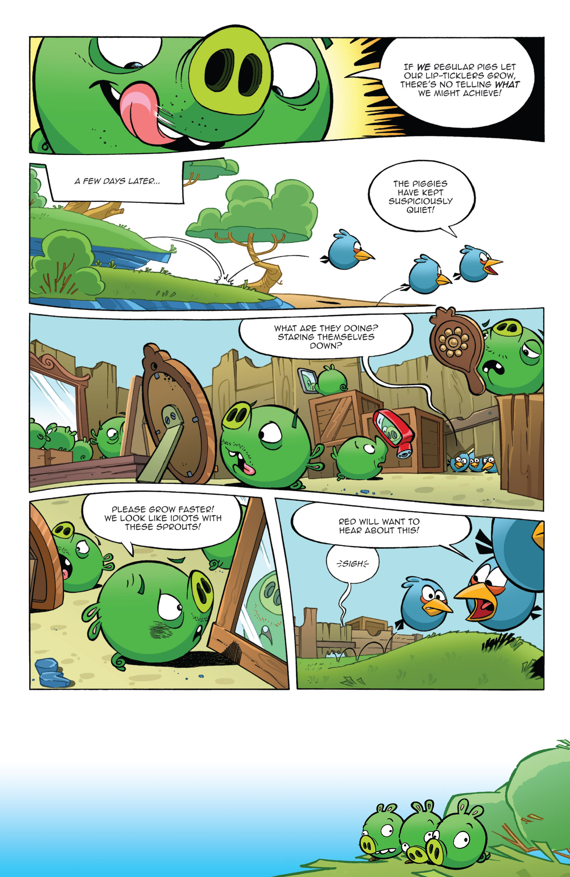 Read online Angry Birds Comics (2014) comic -  Issue #11 - 5