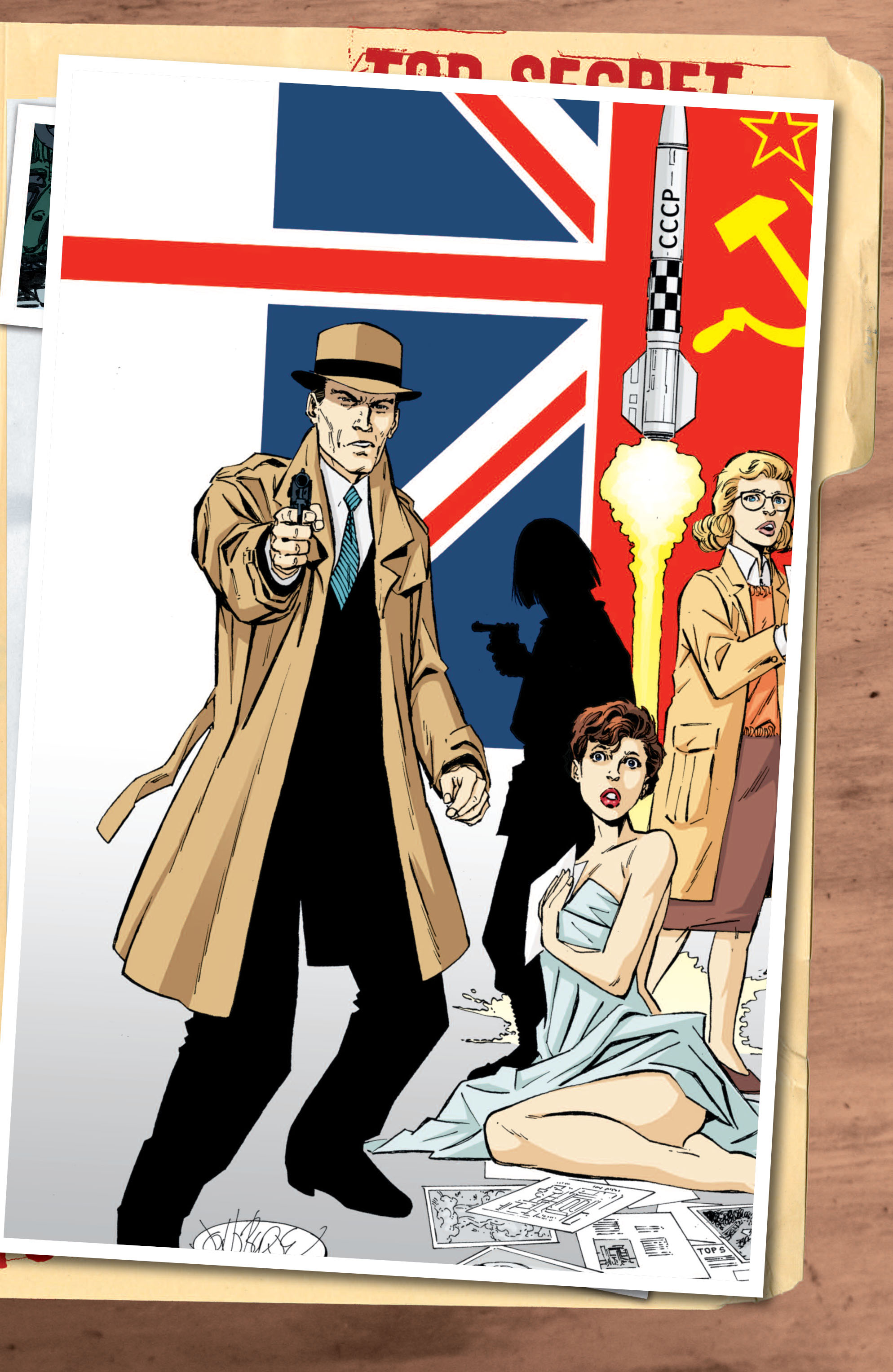 Read online Cold War comic -  Issue # TPB - 129