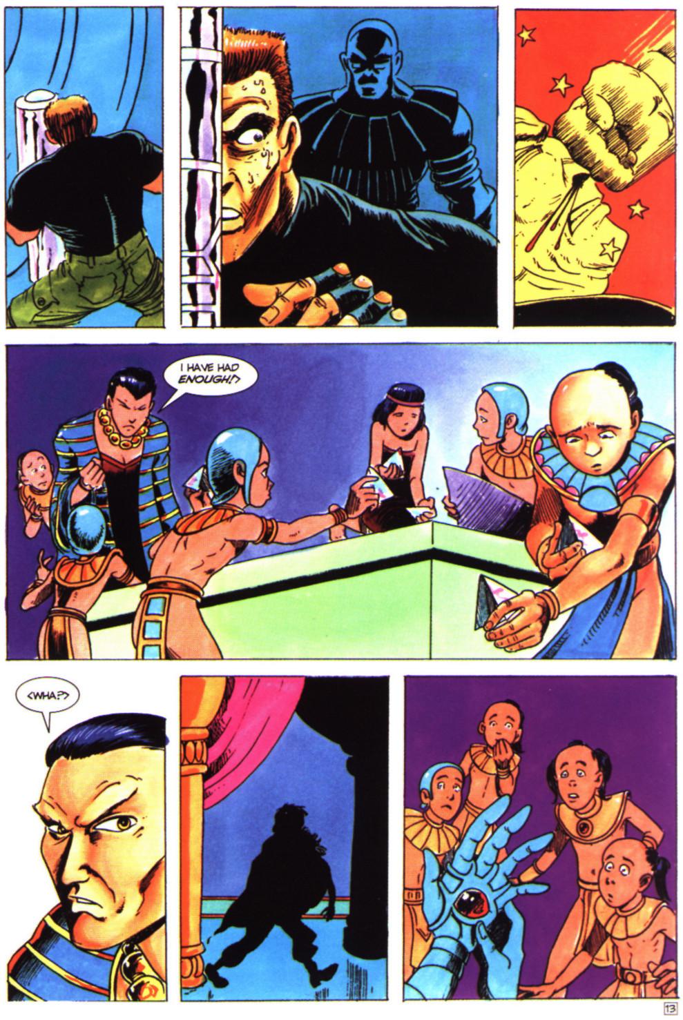Read online Stargate comic -  Issue #4 - 15