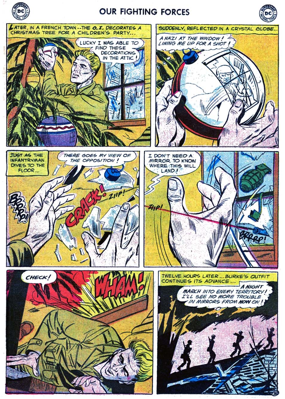 Our Fighting Forces (1954) issue 17 - Page 23