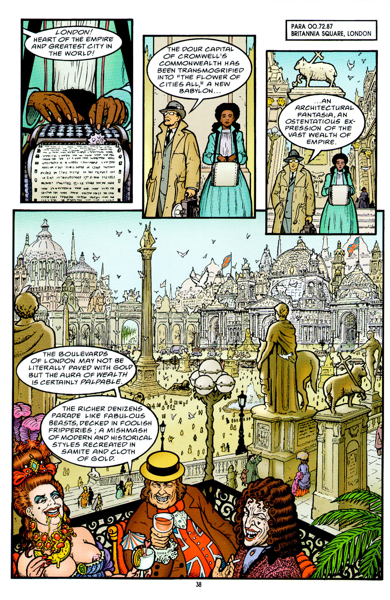 Read online Heart of Empire comic -  Issue #2 - 6