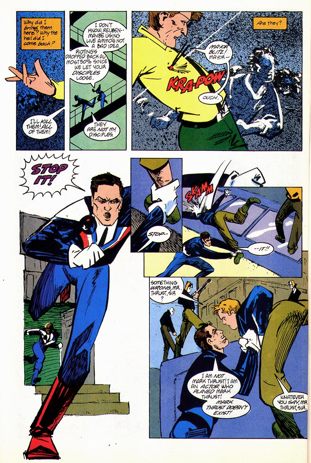 Read online American Flagg! comic -  Issue #45 - 16