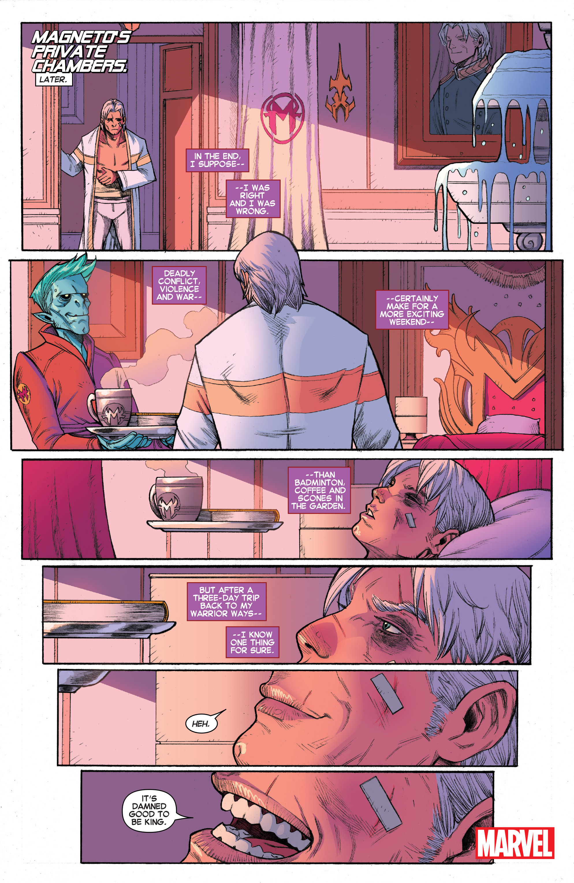 Read online House of M (2015) comic -  Issue #4 - 20