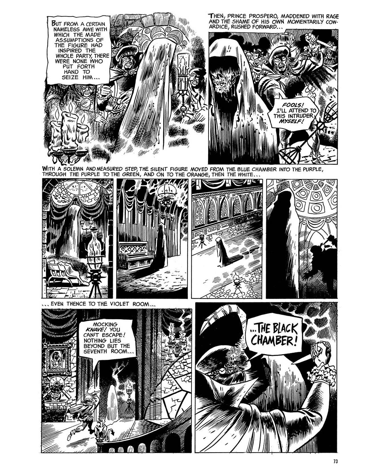 Read online Eerie Archives comic -  Issue # TPB 3 - 74