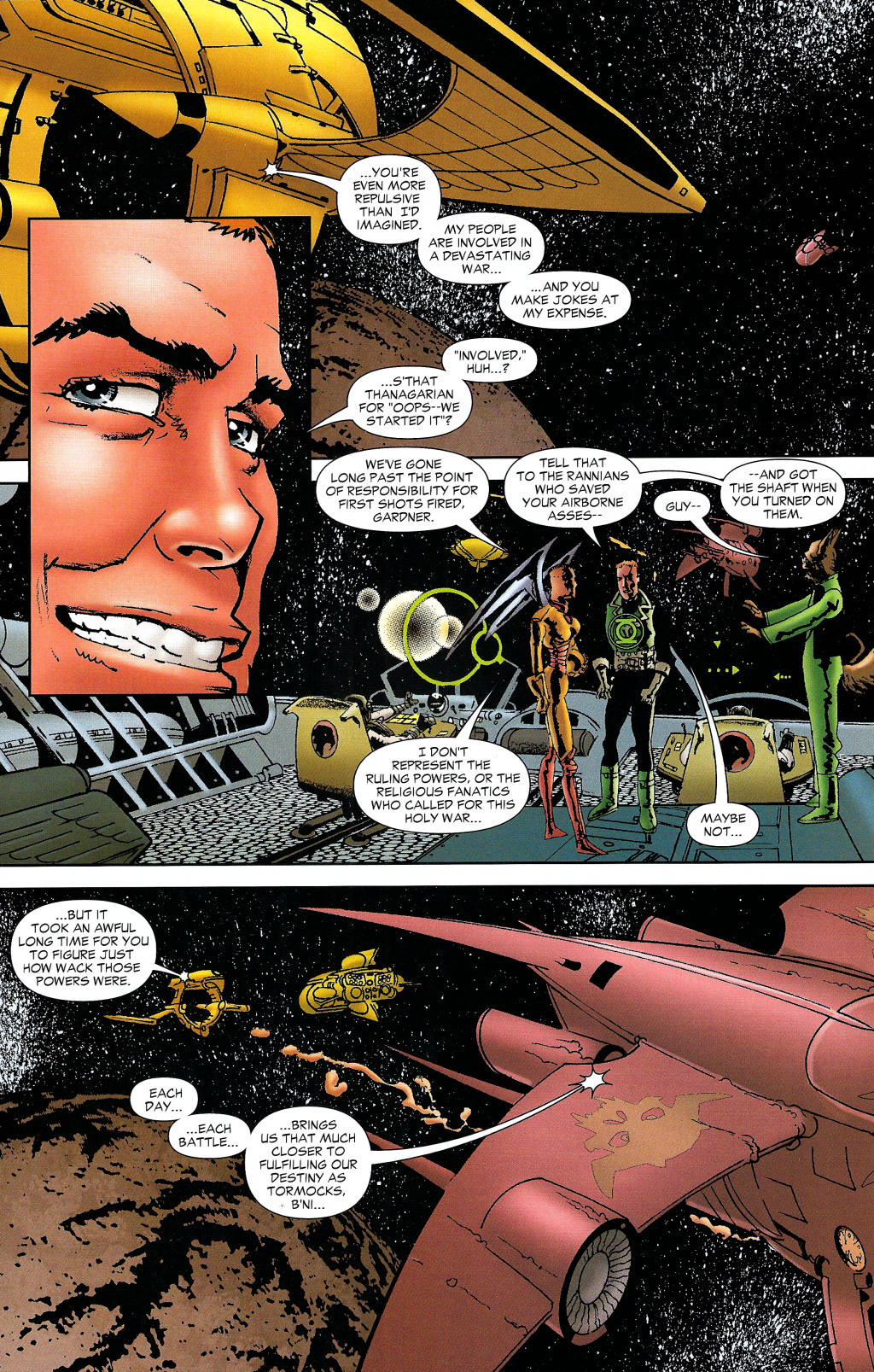 Read online Guy Gardner: Collateral Damage comic -  Issue #1 - 22
