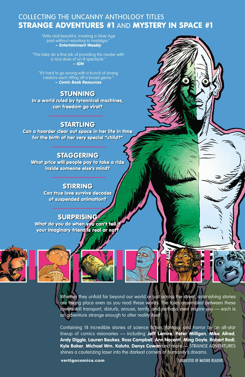 Read online Strange Adventures (2014) comic -  Issue # TPB (Part 2) - 58