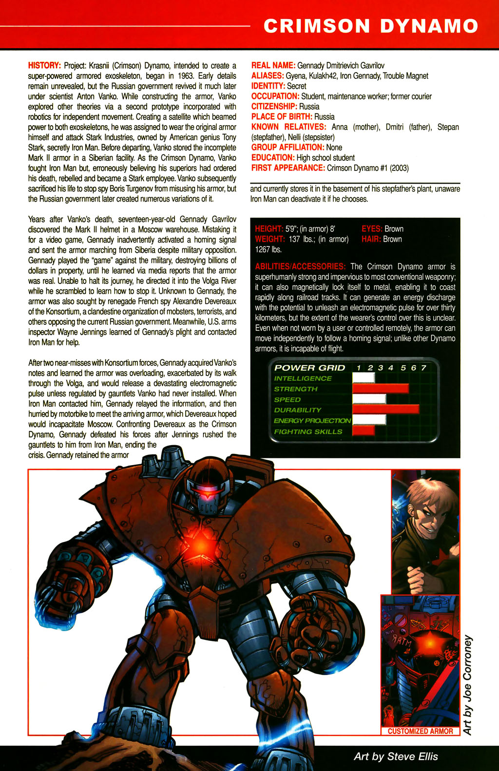 Read online All-New Official Handbook of the Marvel Universe A to Z comic -  Issue #3 - 13