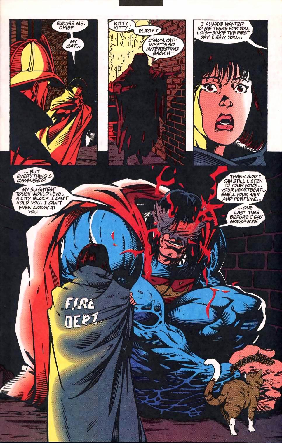 Read online Adventures of Superman (1987) comic -  Issue #512 - 6