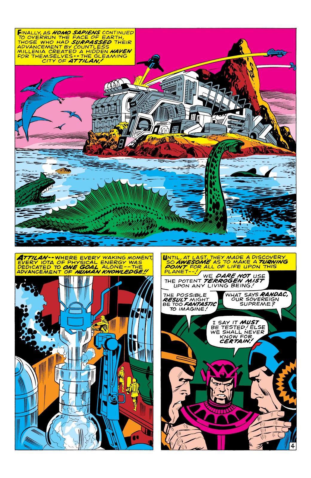 Read online Marvel Masterworks: The Inhumans comic -  Issue # TPB 1 (Part 1) - 11
