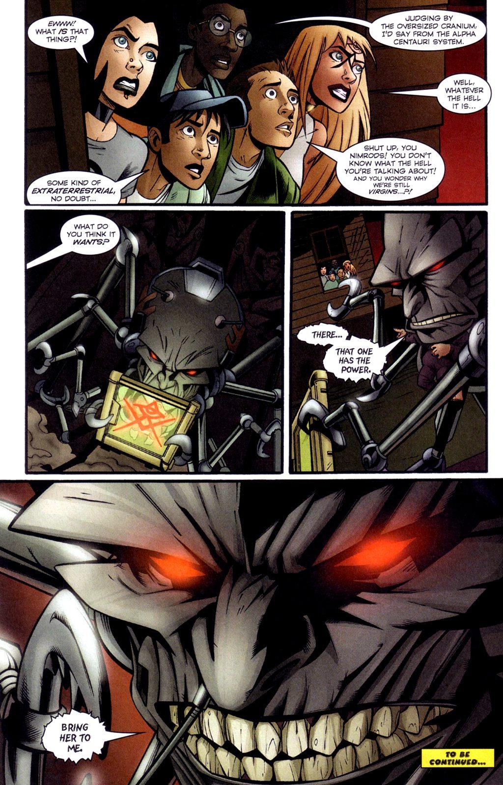 Read online Jezebelle comic -  Issue #4 - 23