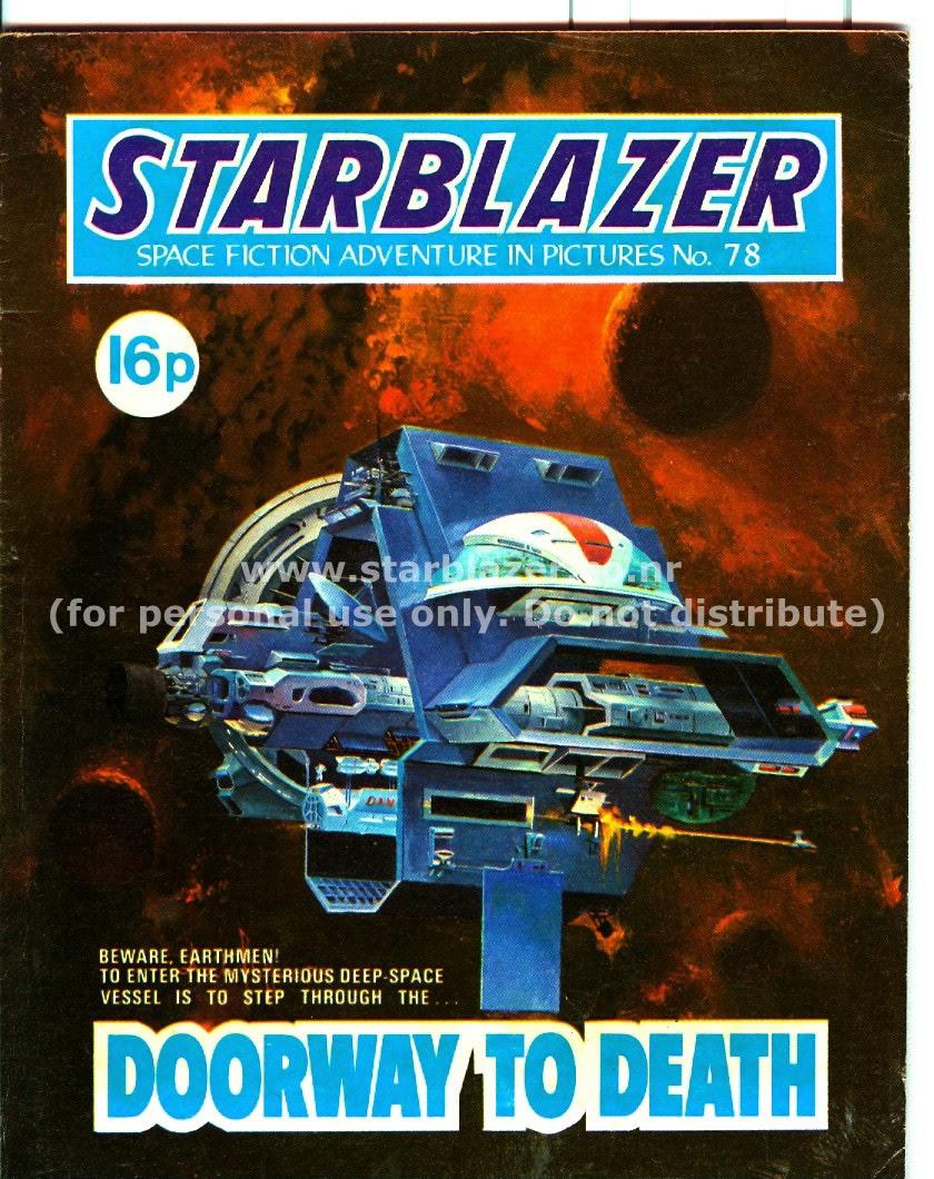 Starblazer issue 78 - Page 1