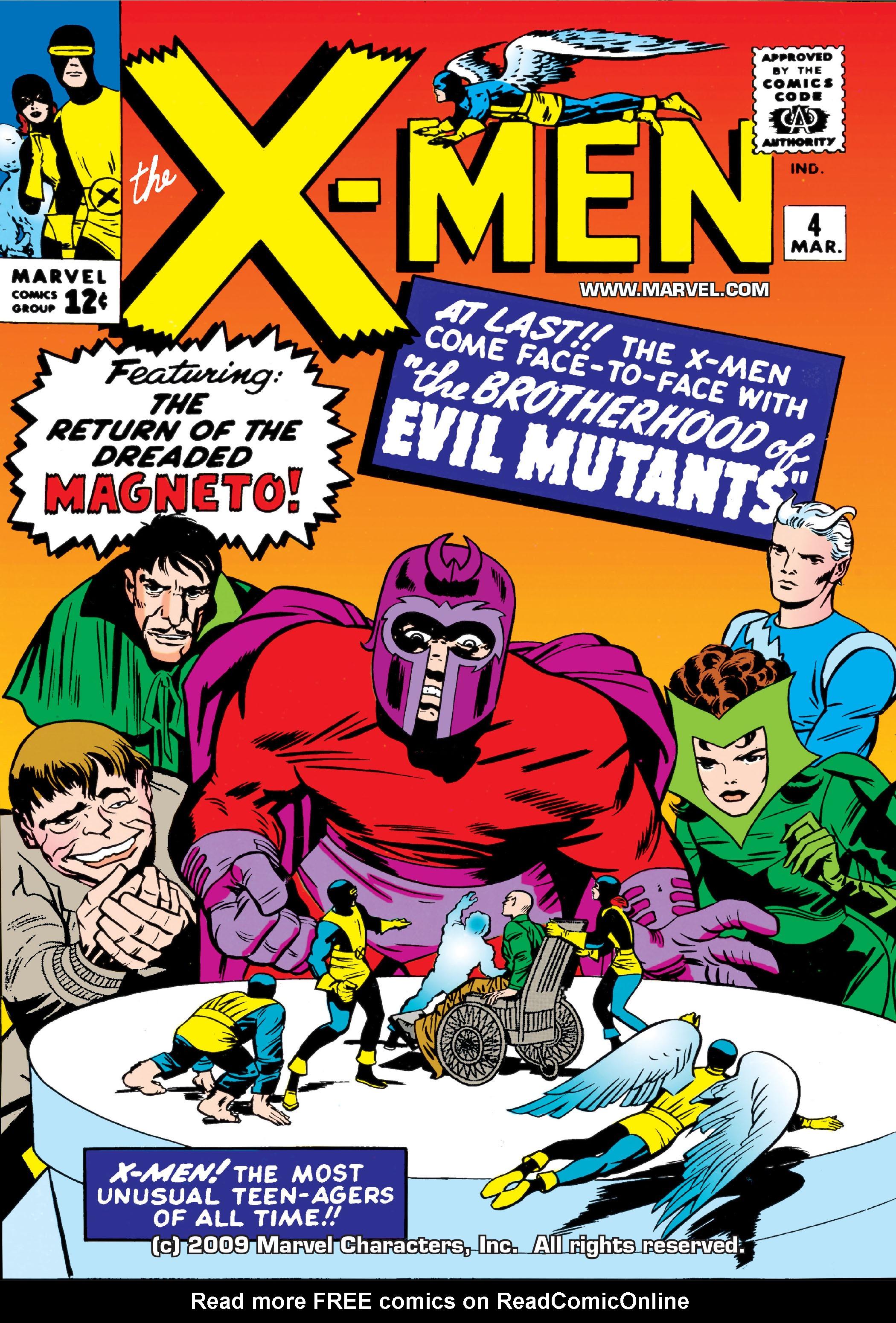 Uncanny X-Men (1963) 4 Page 1