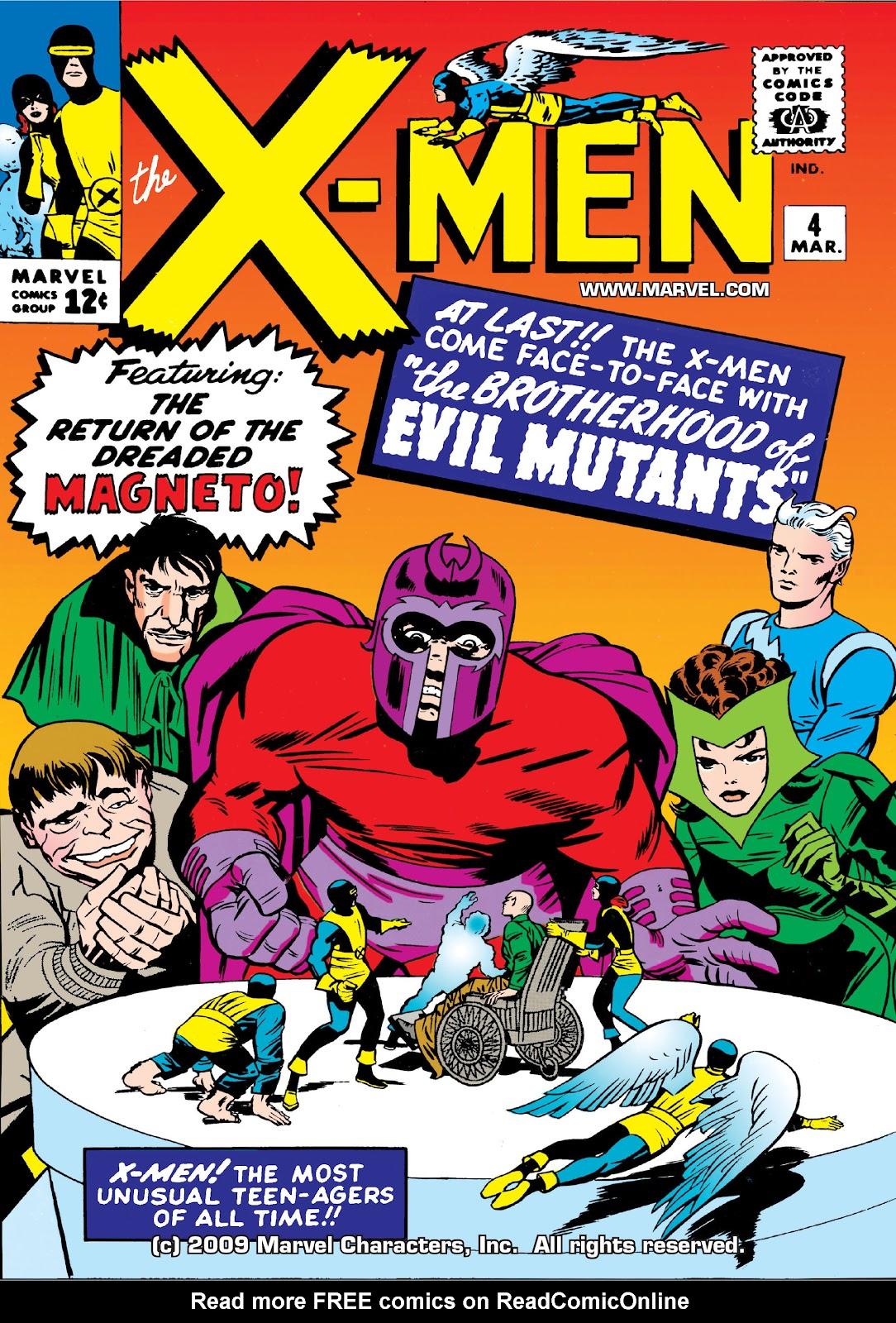 Uncanny X-Men (1963) issue 4 - Page 1
