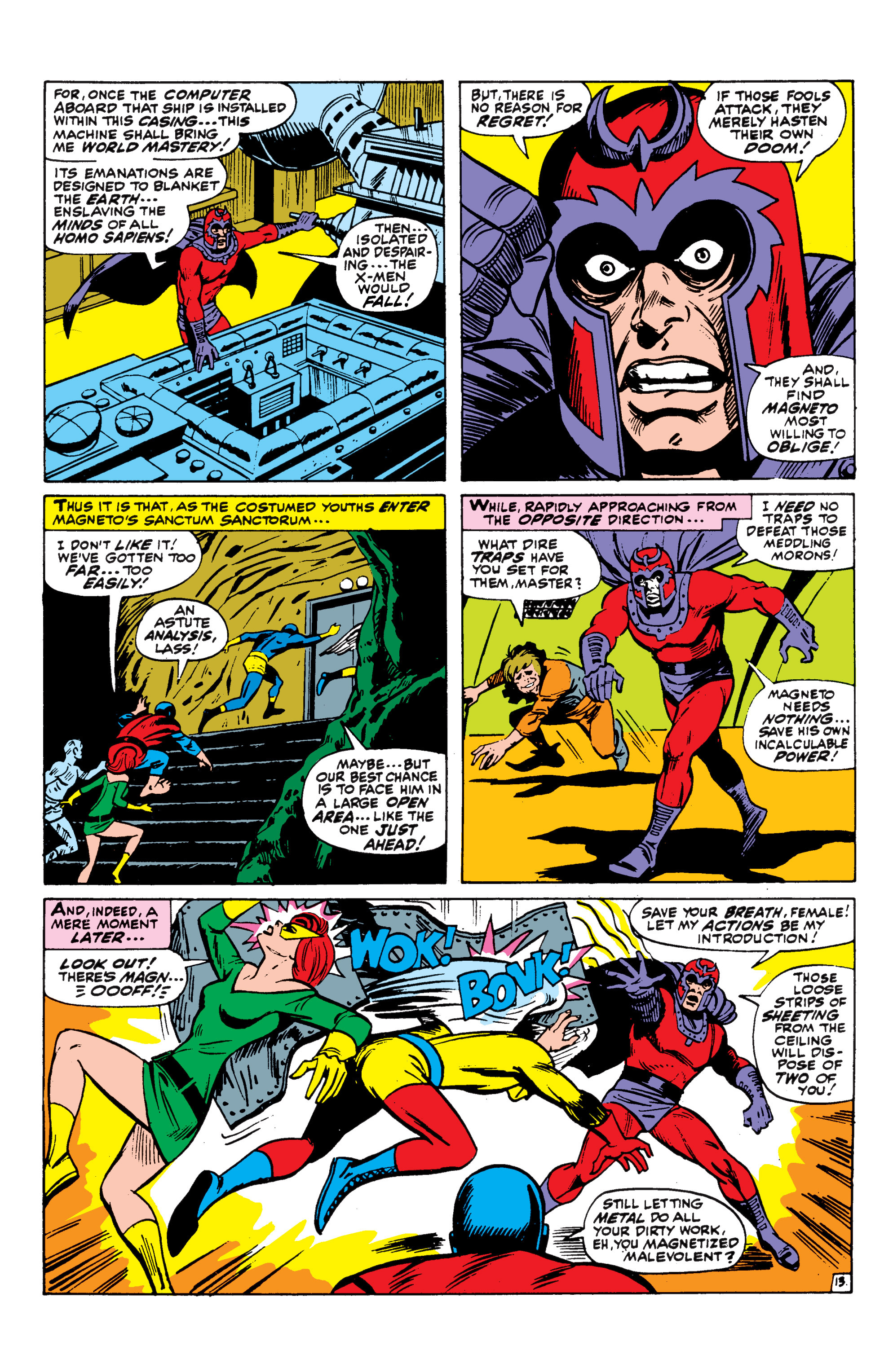 Read online Uncanny X-Men (1963) comic -  Issue #43 - 14