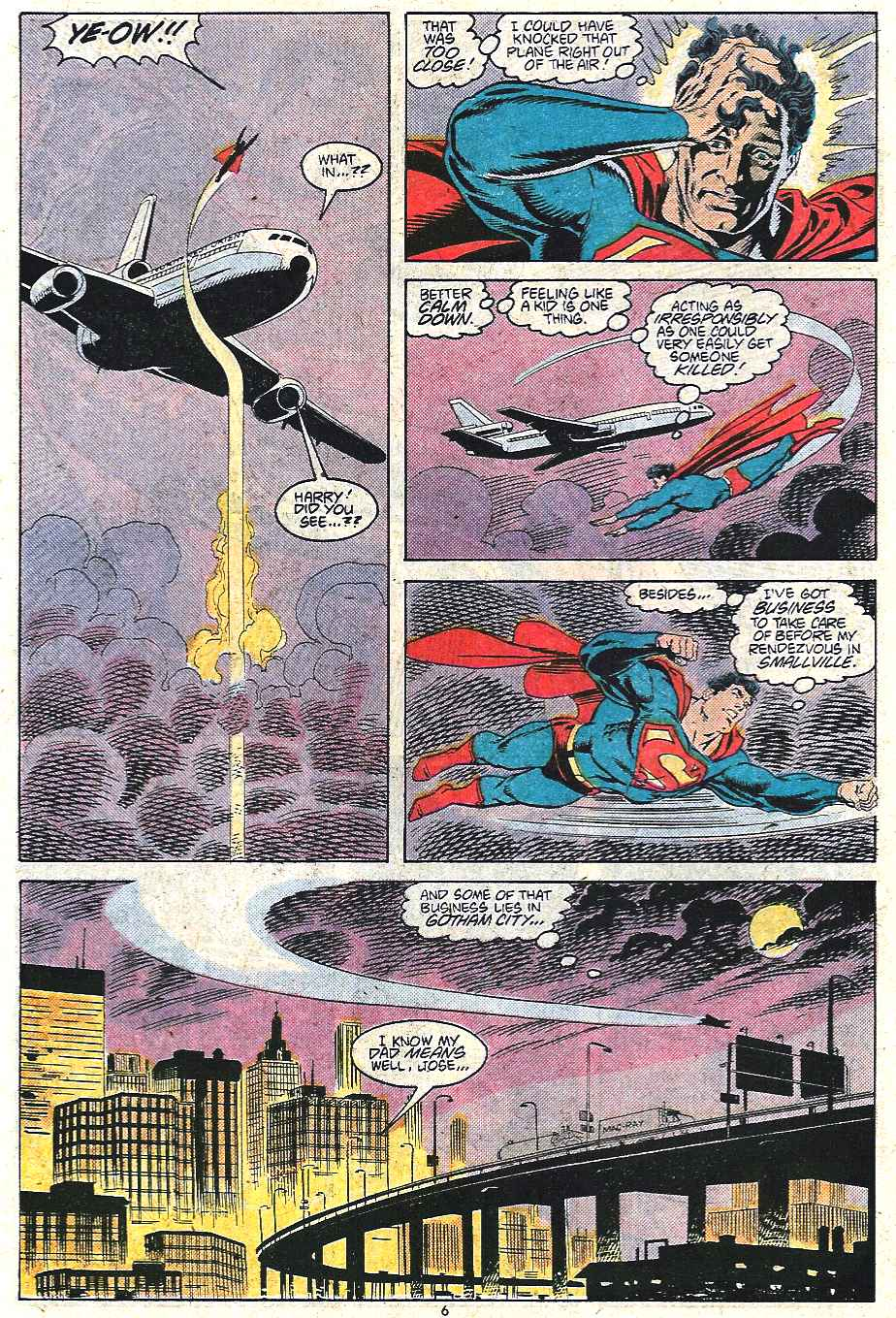 Read online Adventures of Superman (1987) comic -  Issue #440 - 7