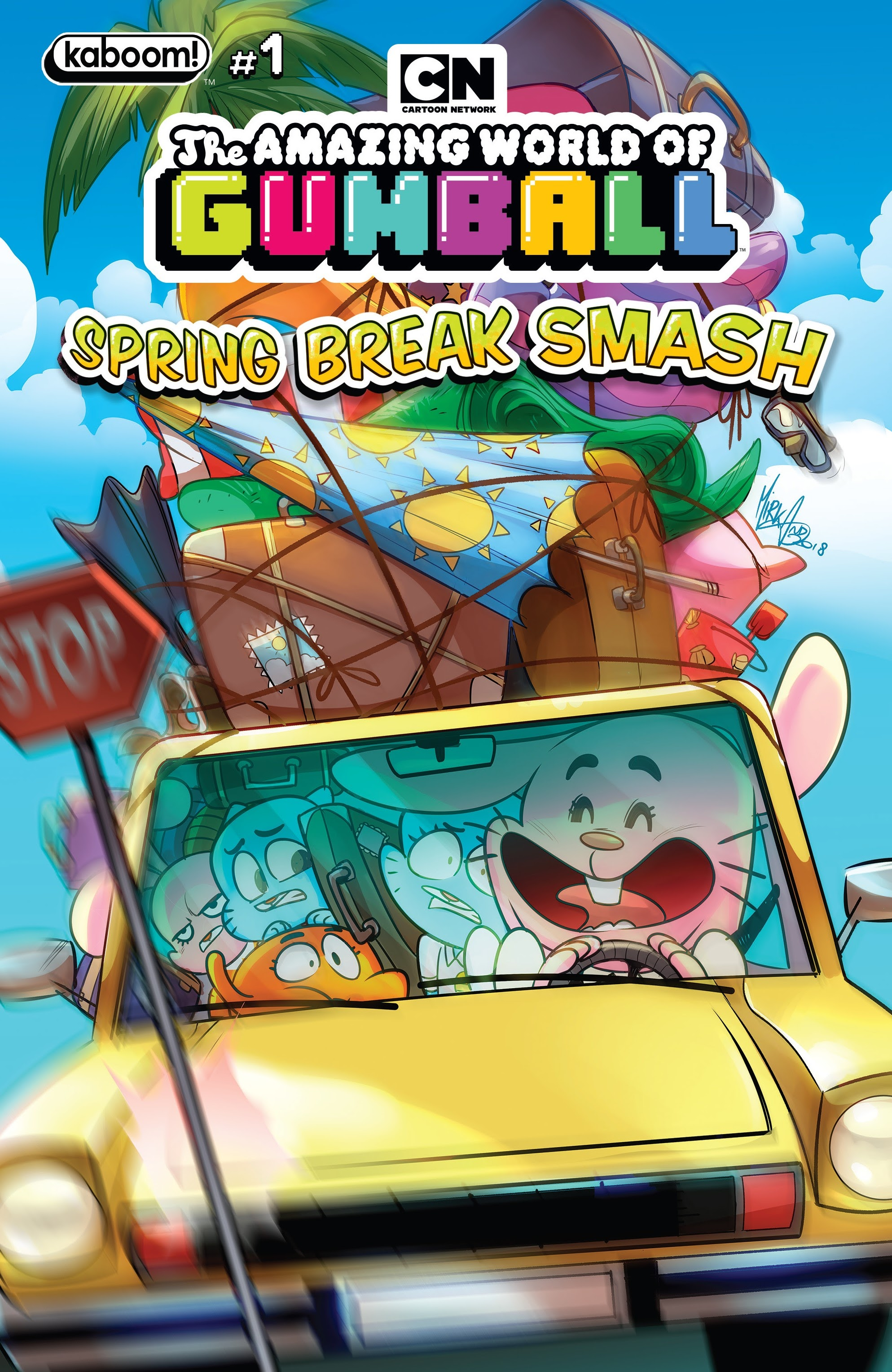 The Amazing World of Gumball: Spring Break Smash Full Page 1